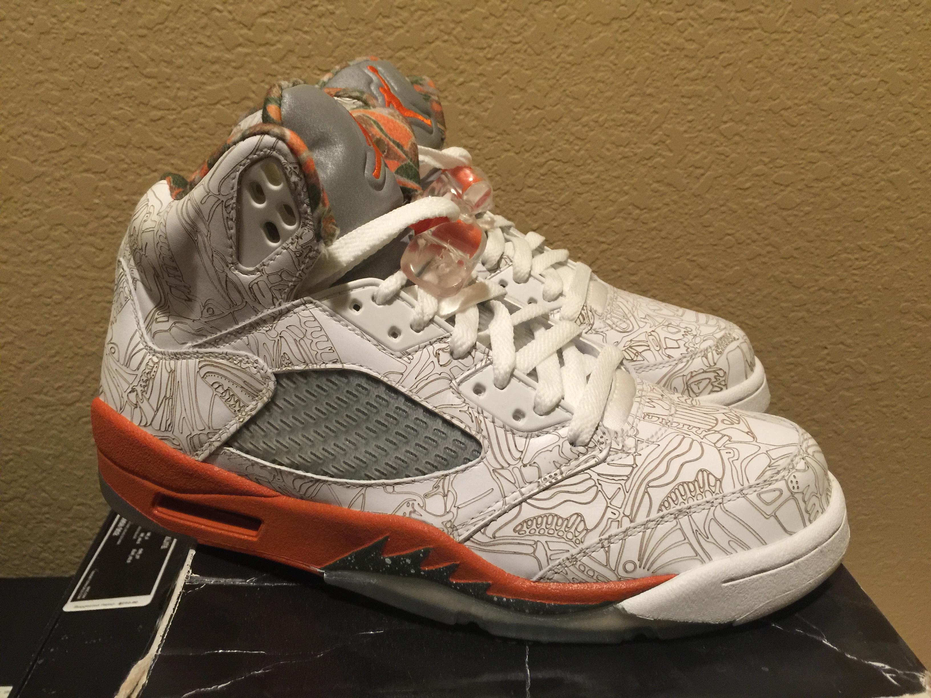 ac7b2461ce2 Jordan Brand Air Jordan Retro 5 Laser | Grailed