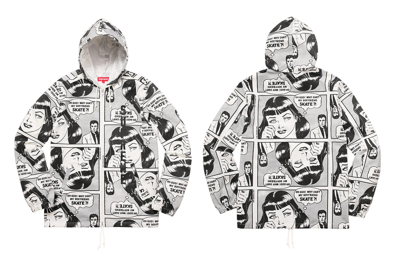 33671b425f33 Supreme Supreme X Thrasher Boyfriend Hooded Zip Up Jacket