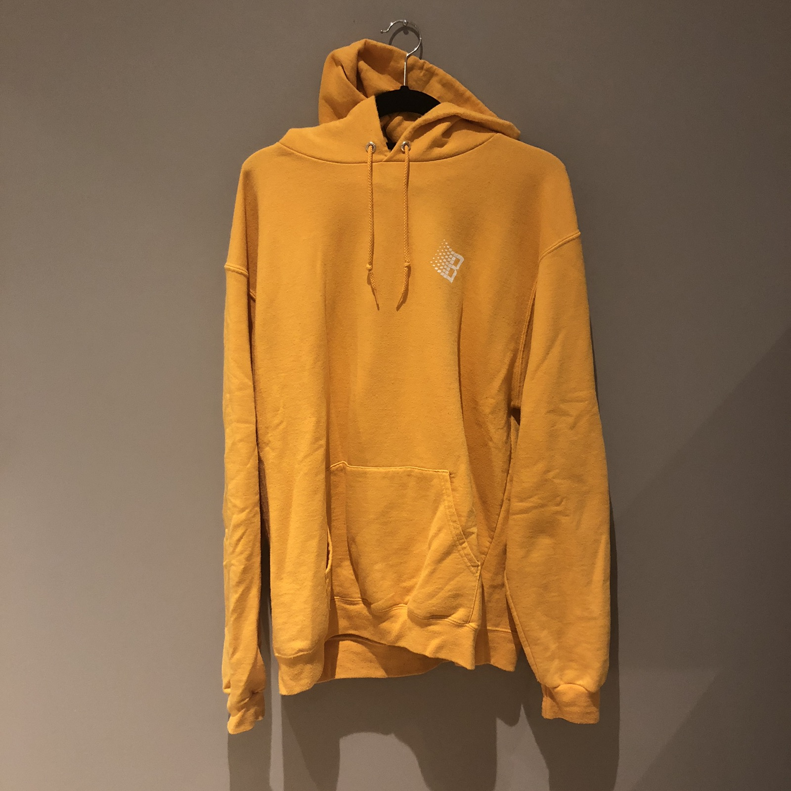 H&M MustardYellow Hoodie, Men's Fashion, Clothes, Outerwear
