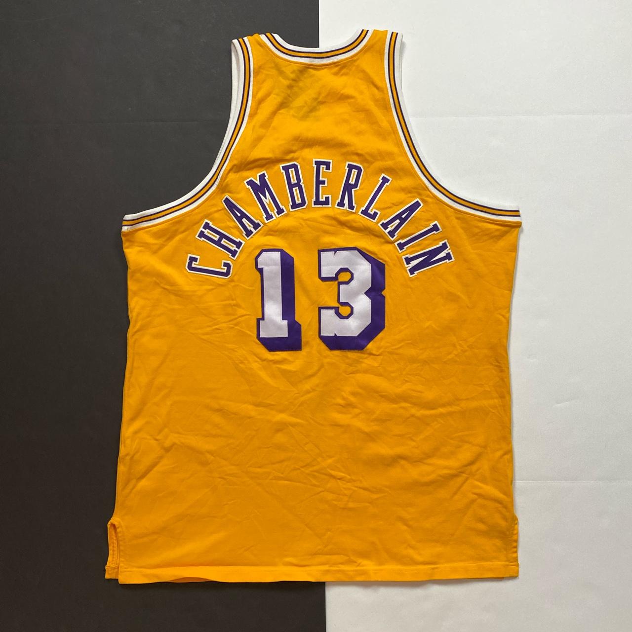 Vintage Vtg Mitchell & Ness NBA Wilt Chamberlain LA Lakers Jersey