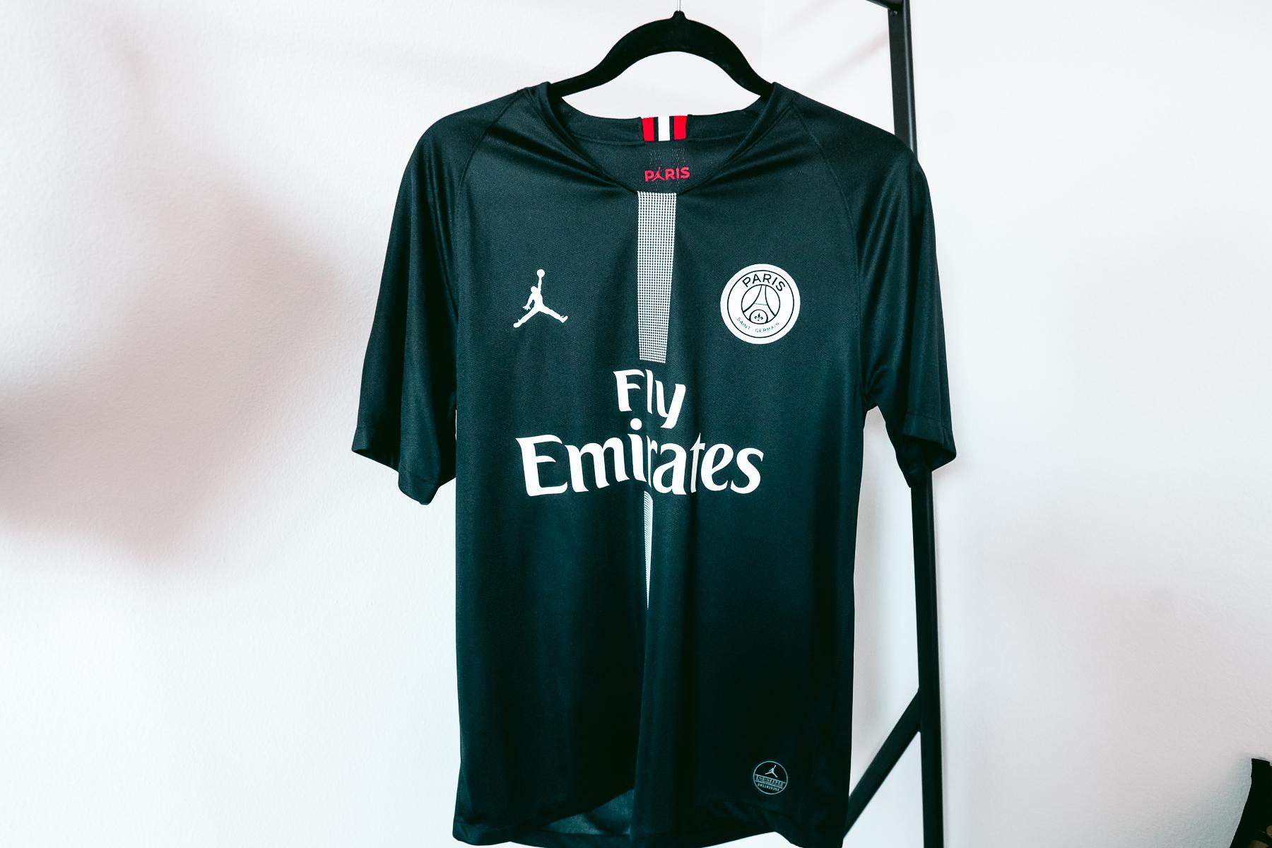 Jordan Brand Jordan X Paris Saint Germain 2018 19 Stadium Third Jersey Grailed