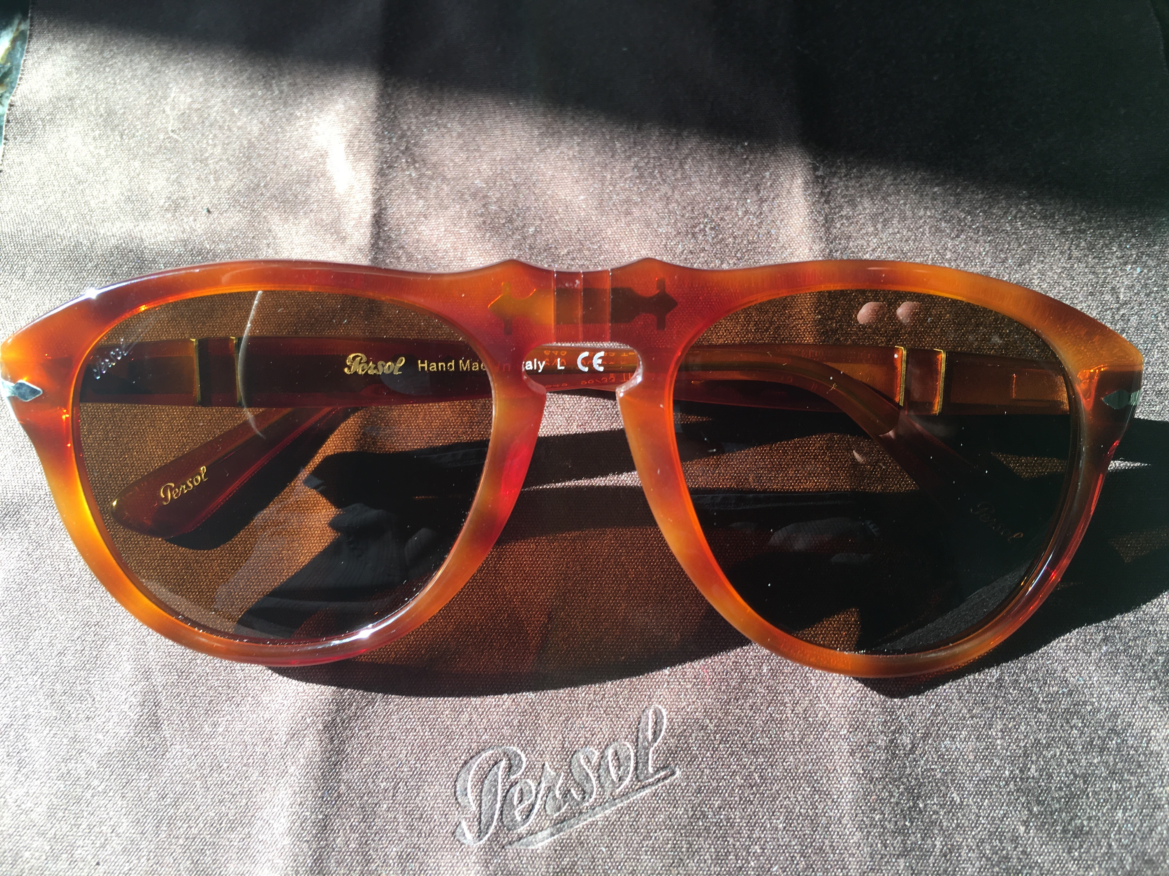 3ded31bef2 Persol 649 Series - PO0649 in Terra di Siena Size one size - Sunglasses for  Sale - Grailed