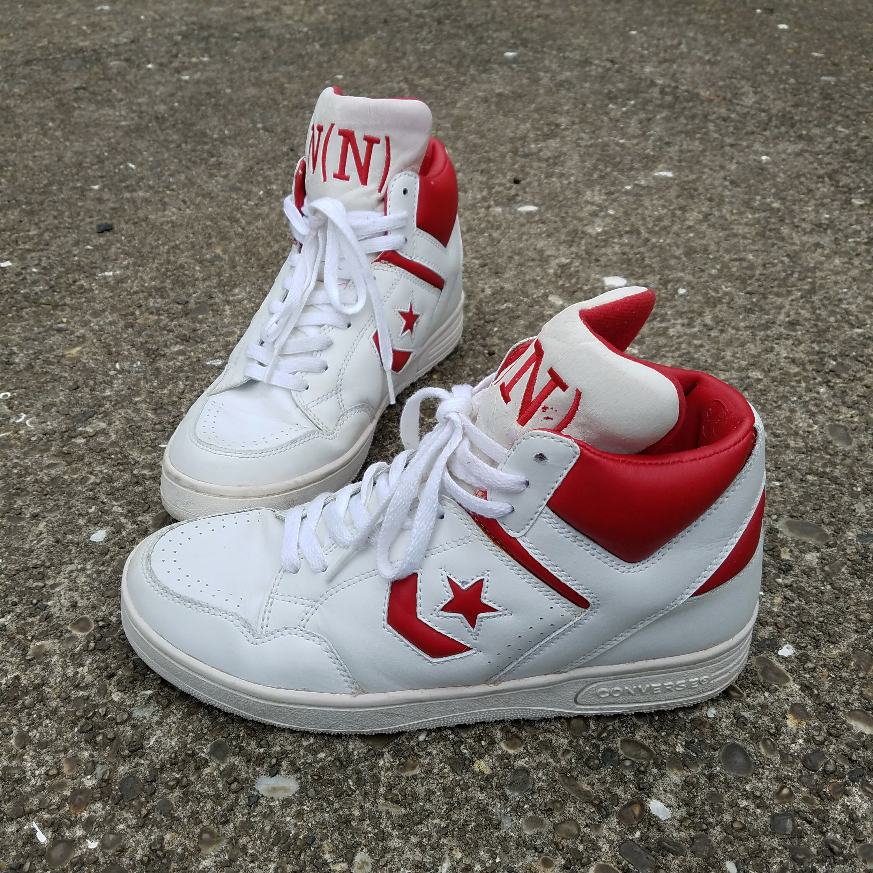 Converse Weapon Hi-top | Grailed