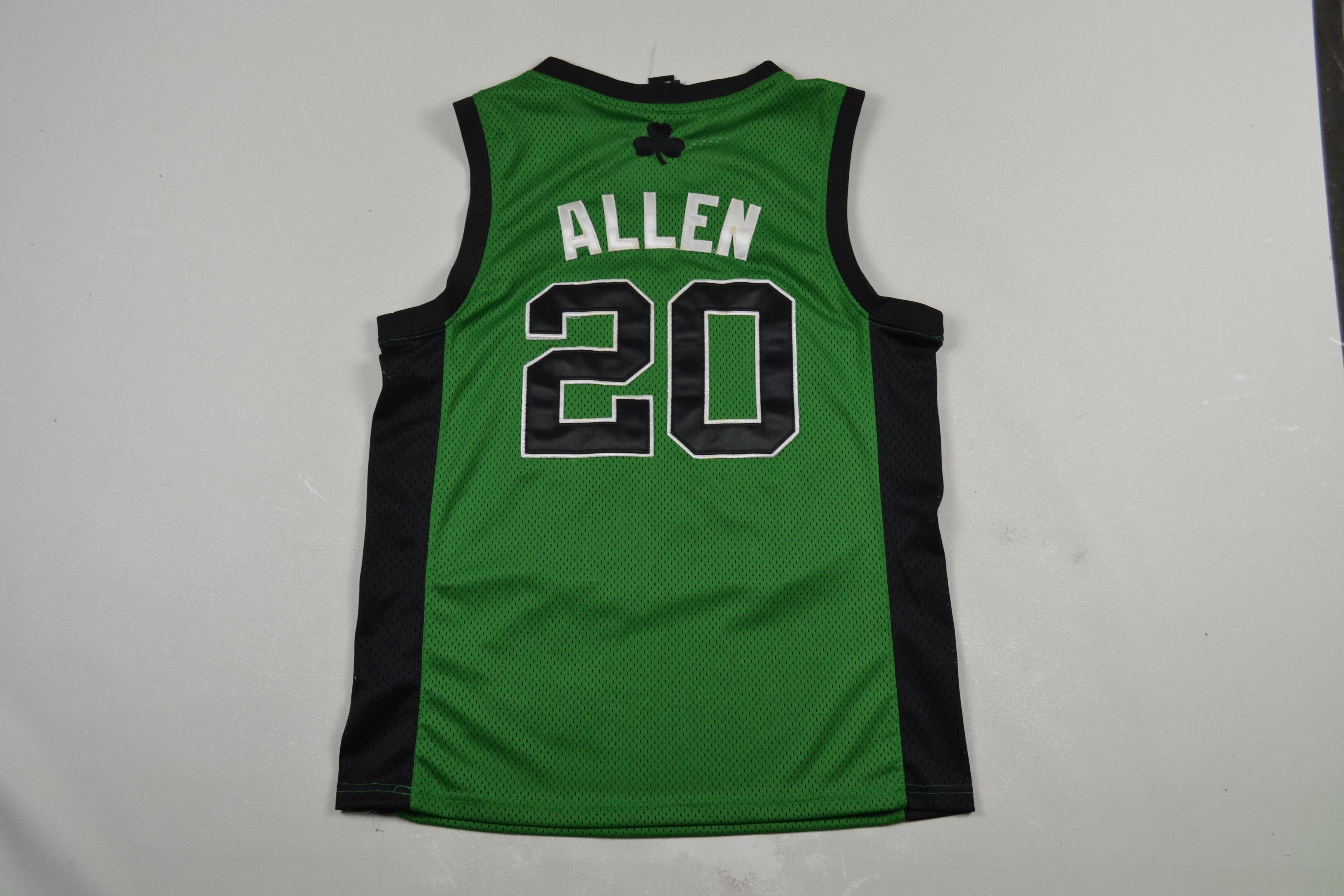 e8391ab9 Adidas Boston Celtics Ray Allen Jersey Nba Basketball Jesus ...