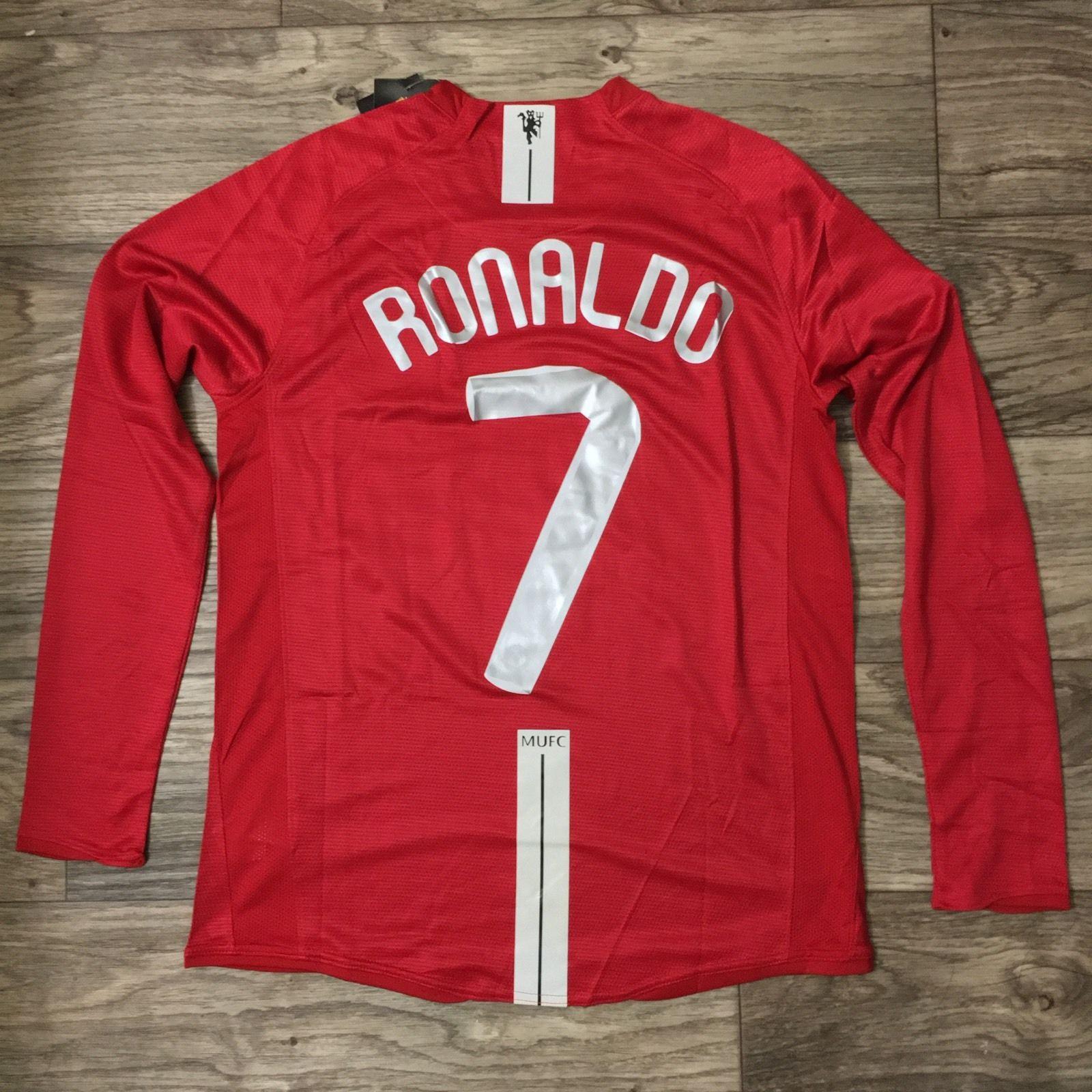 new arrival b0fee 596d8 RARE C. Ronaldo Manchester Utd kit 07/08