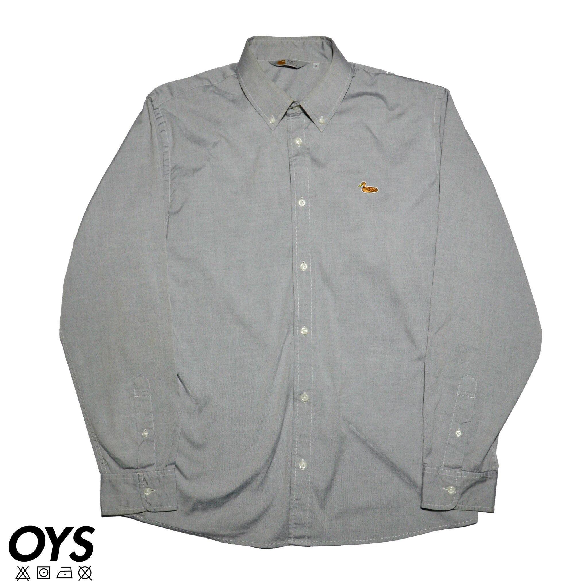 Carhartt Carhartt Rugged Outdoor Wear Duck Shirt Grey Grailed