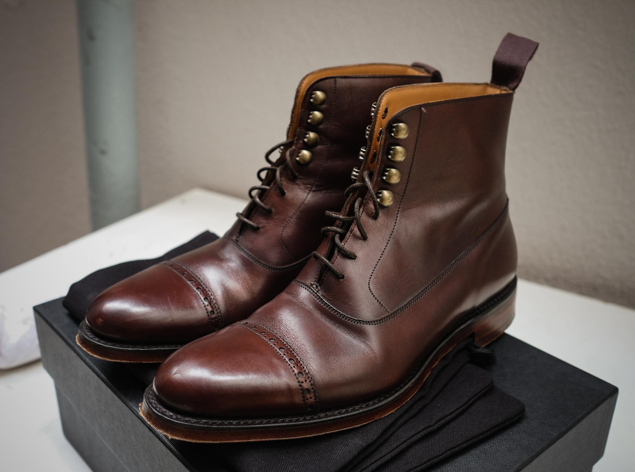 2c934fce2a4b Dark Brown Balmoral Boot