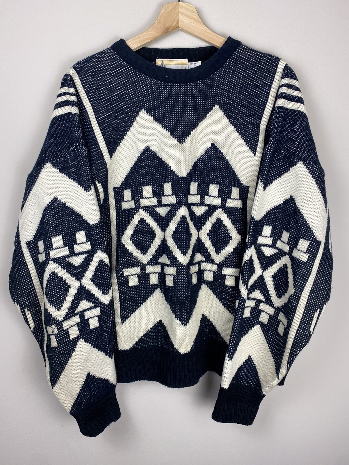 Vintage Abstract Sweater
