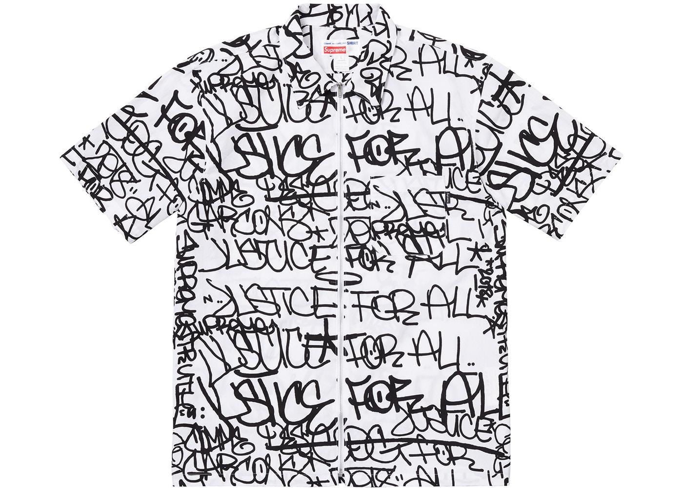 759f9172 Supreme × Comme des Garcons ×. Supreme Commes Des Garcon Shirt Graphic ...