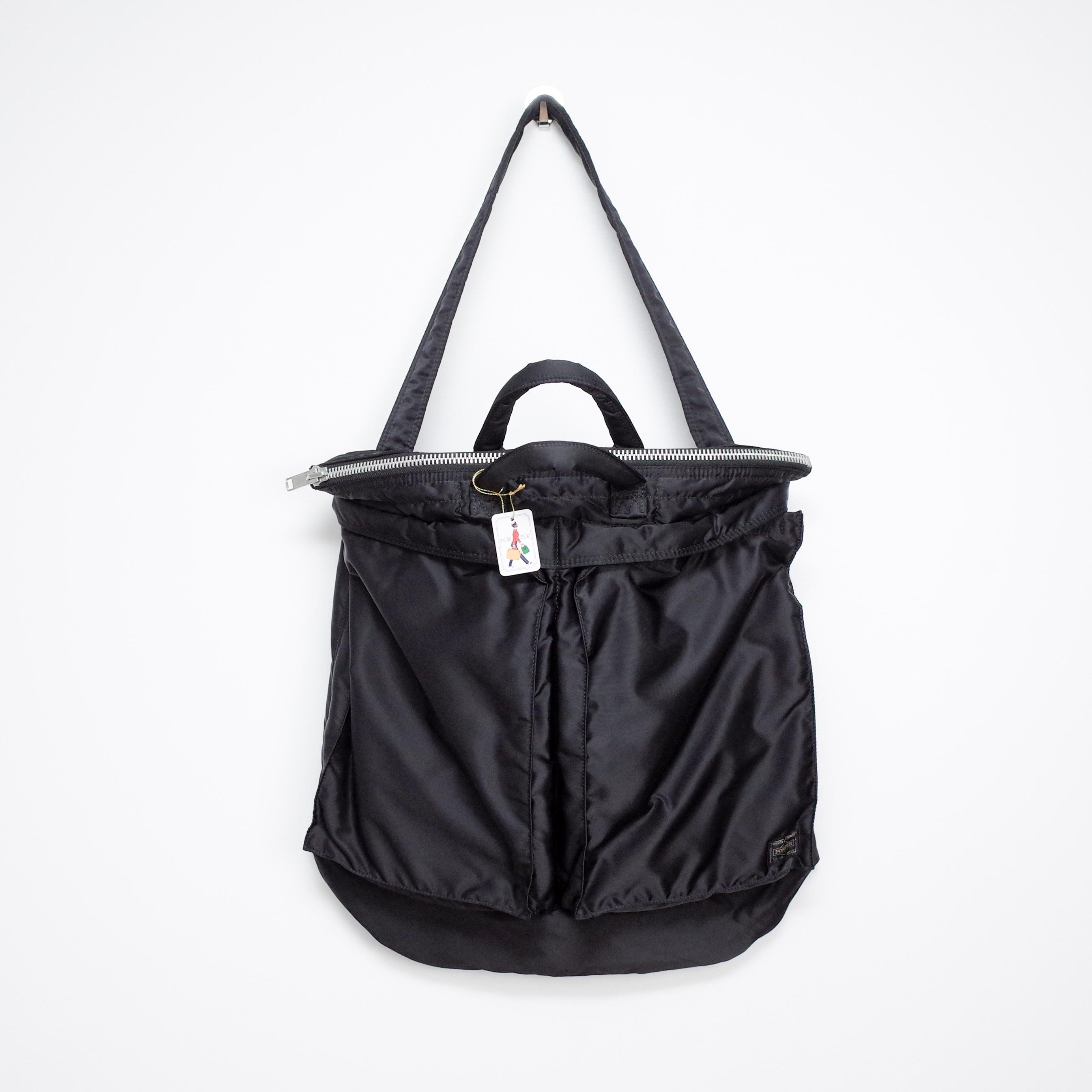 3d02af39607 Porter Og Porter Tanker 2 Way Helmet Bag Black | Grailed