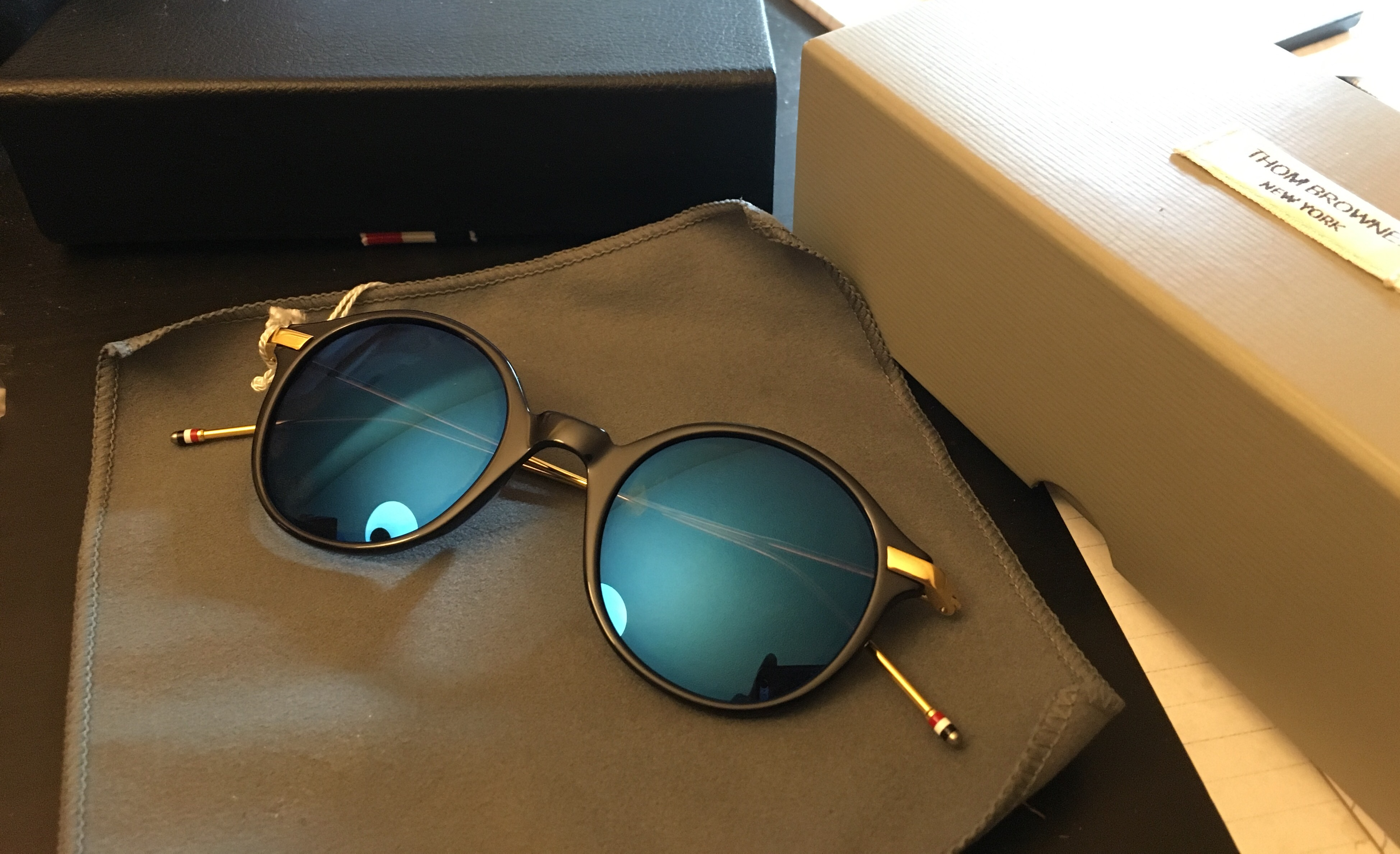 1c9810f3a80 Thom Browne Thom Browne sunglasses TB 708 Size one size - Sunglasses for  Sale - Grailed