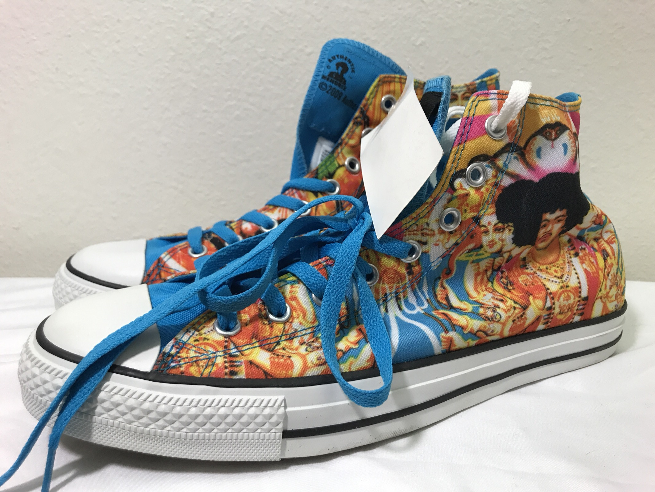 26c3cf80fd253e Converse Jimi Hendrix Converse All Star Chuck Taylor Hi Top Sneakers Size  12 - Hi-Top Sneakers for Sale - Grailed