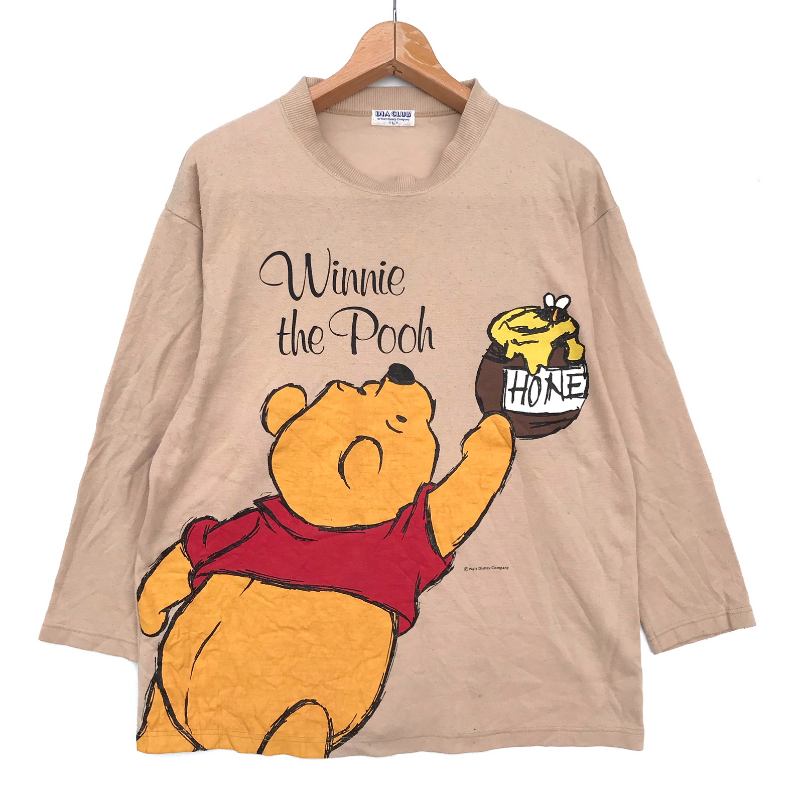 4e09ff63ce6 Disney ❌last Drop Before Remove❌ Winnie The Pooh Big Printed ...