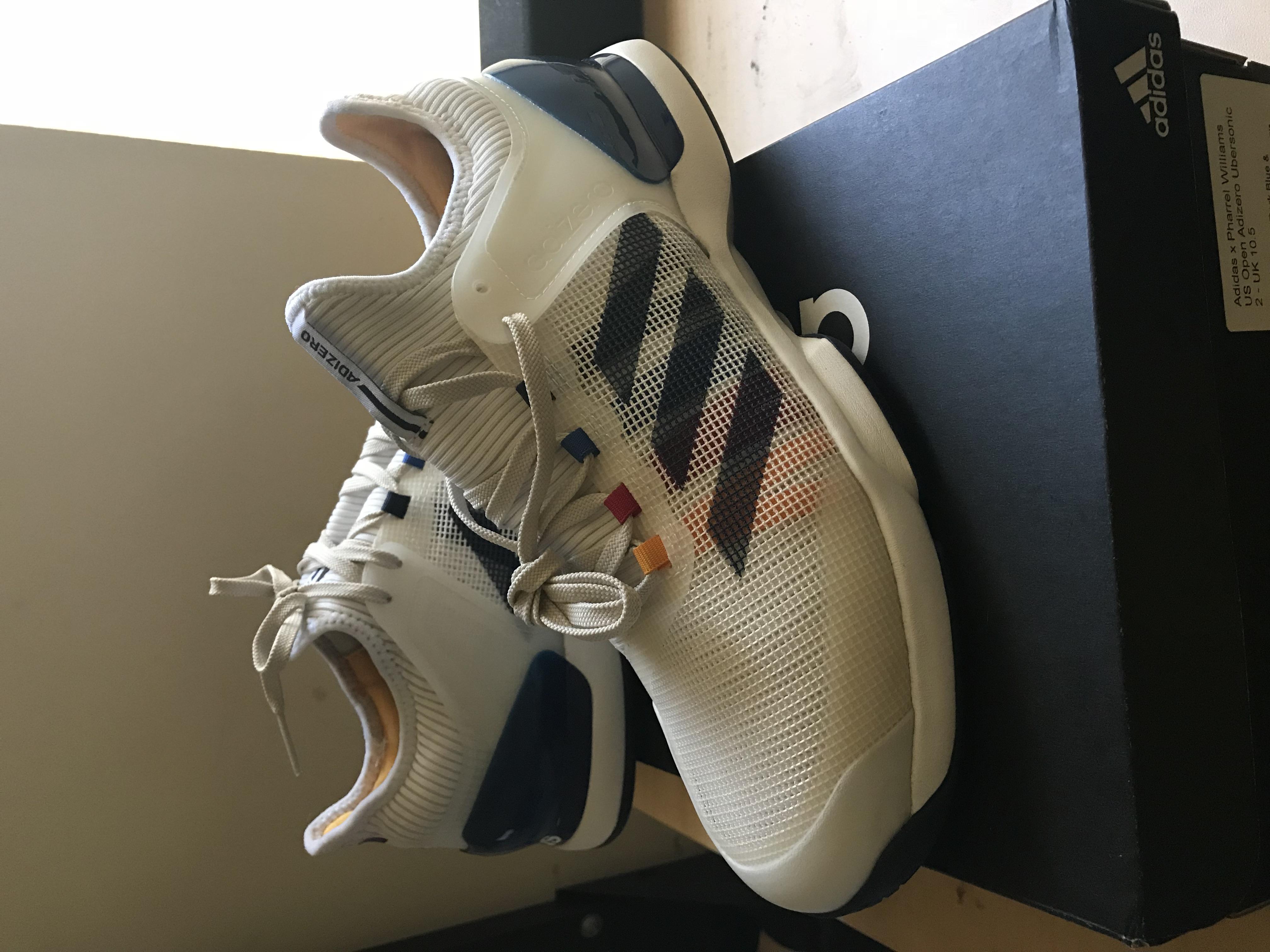 3a38cb52d7133 Adidas US Open Adizero Ubersonic 2 PW Size 11 - Low-Top Sneakers for Sale -  Grailed