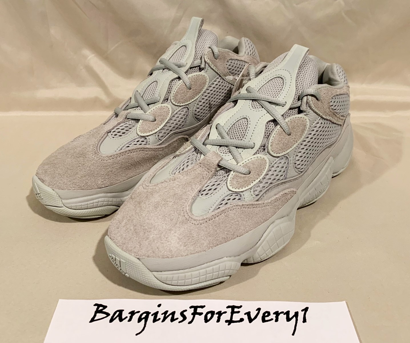 online store b8501 195cd New Adidas Yeezy Boost 500 - Size 11 - Salt - EE7287 - Kanye West