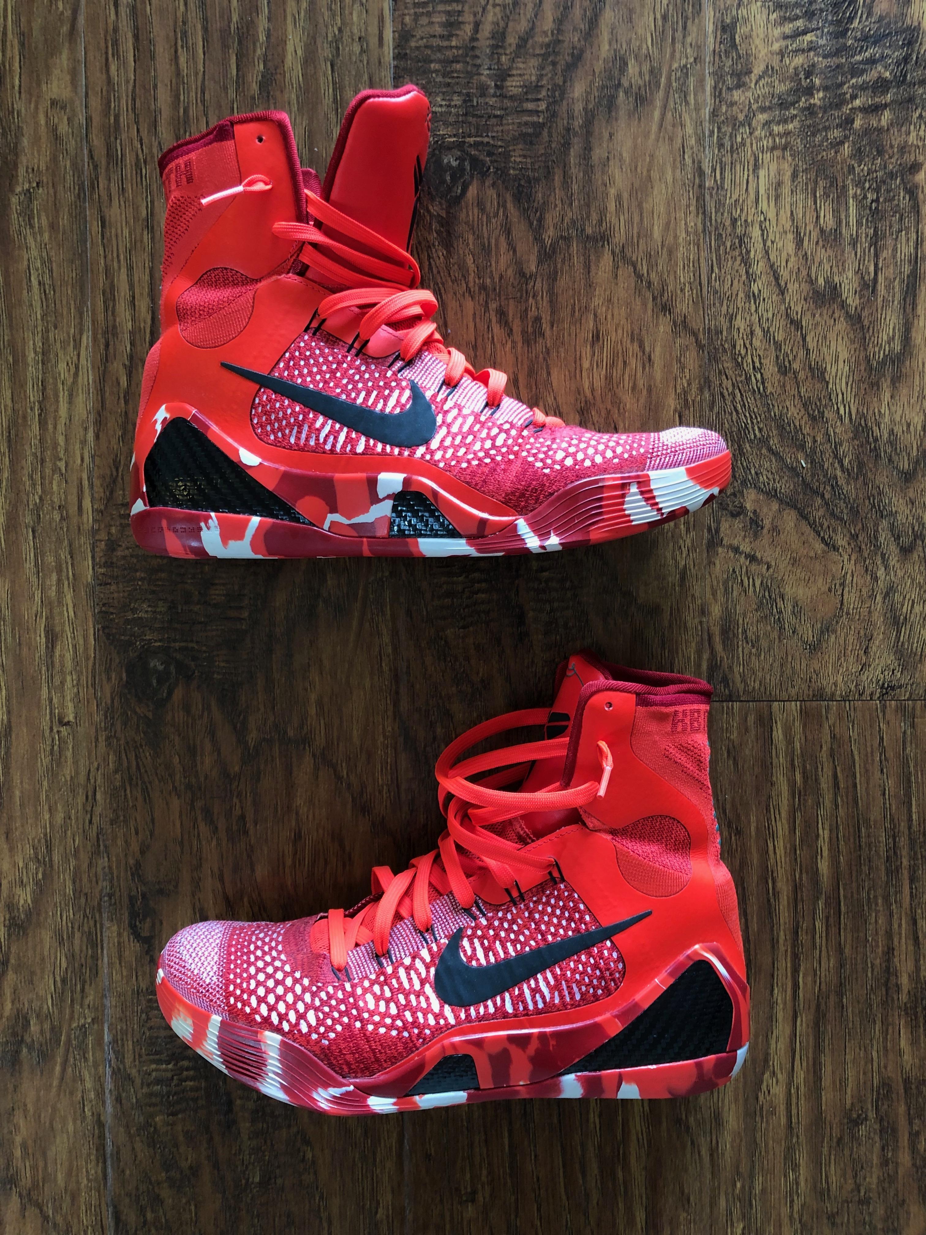 watch 1820d c838d Nike Kobe 9 Elite Christmas