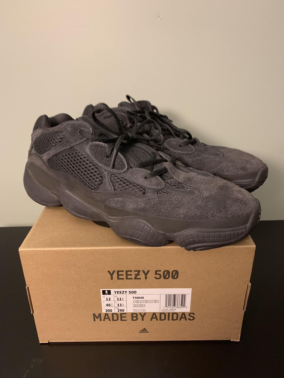 b8534a17c803 Adidas × Adidas Kanye West ×. Yeezy 500 Utility Black ...