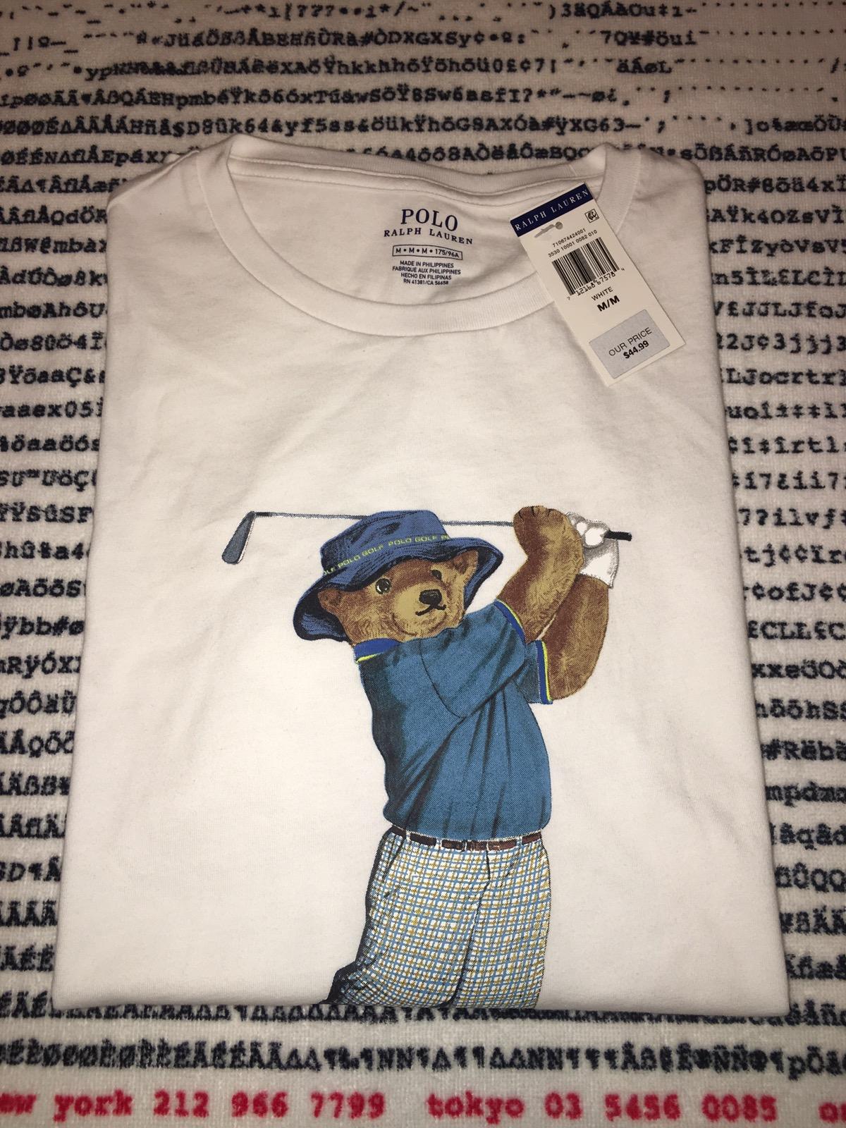 polo bear golf shirt