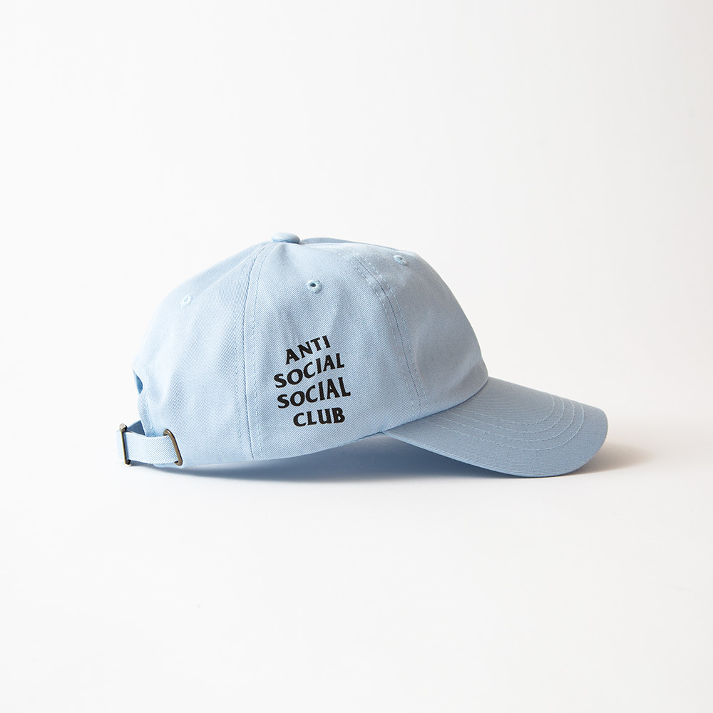 a5f8ed95374a Antisocial Social Club ASSC Weird Hat Baby Blue Size one size - Hats for  Sale - Grailed