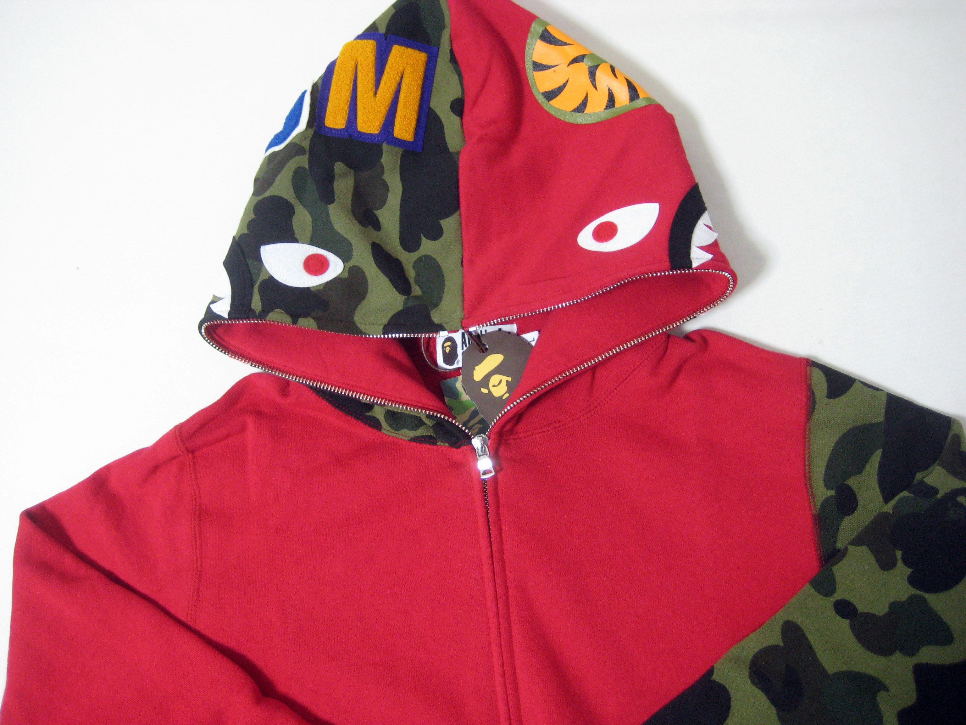 Clothing, Shoes & Accessories Activewear Learned A Bathing Ape Hoodies Made In Japan