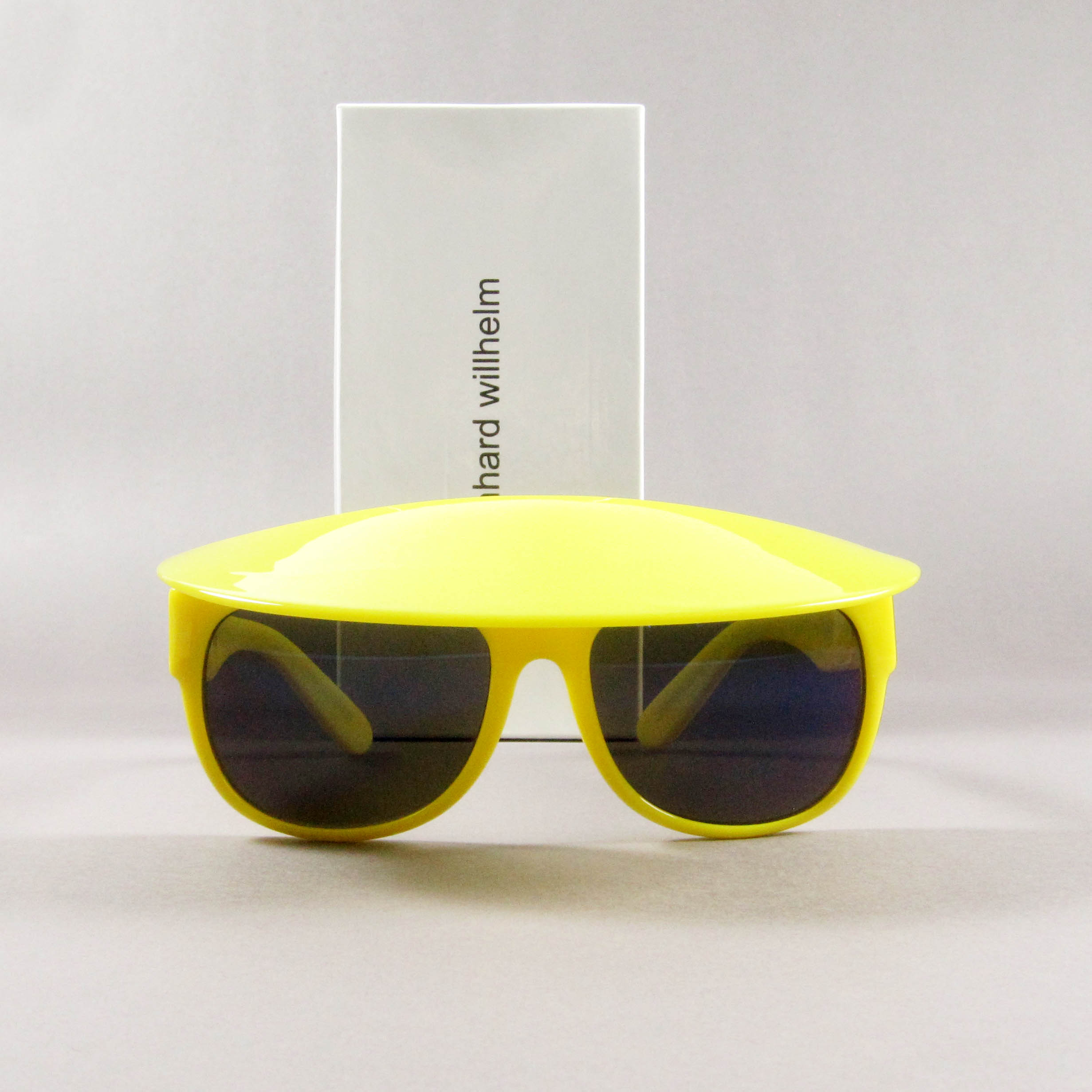 05a8584b015 Bernhard Willhelm × Linda Farrow. Linda Farrow x Bernhard Willhelm Visor  Sunglasses Neon Yellow. Size  ONE SIZE