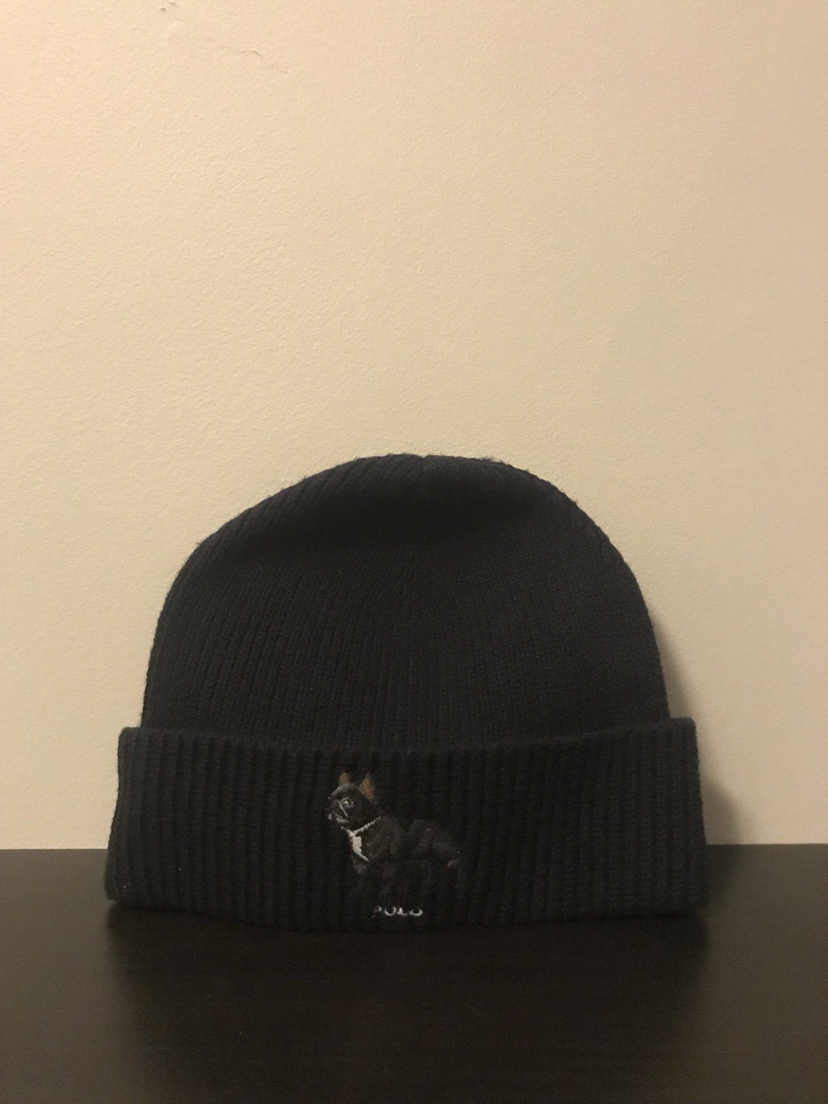 a174bafb94479 Polo Ralph Lauren ×. Polo French Bulldog Beanie