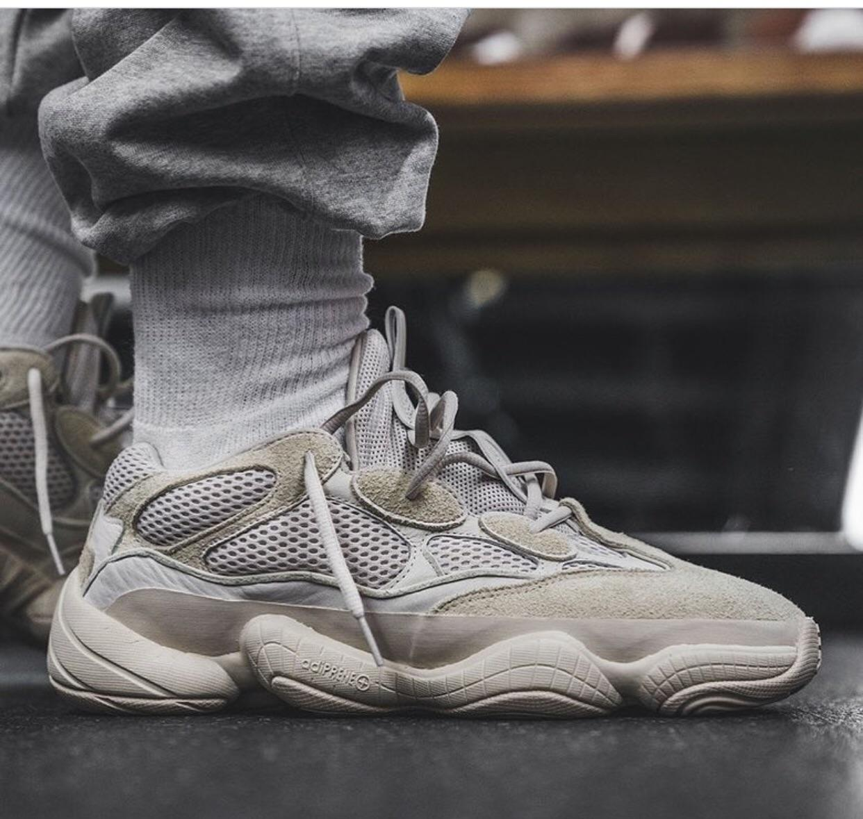 uk availability 5551a 23d49 Yeezy 500 Desert rat Blush
