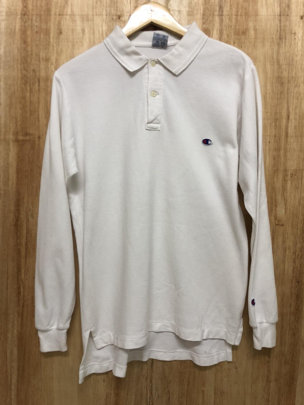 023f8746 Champion Vintage Champion Long Sleeve Polo Shirt | Grailed