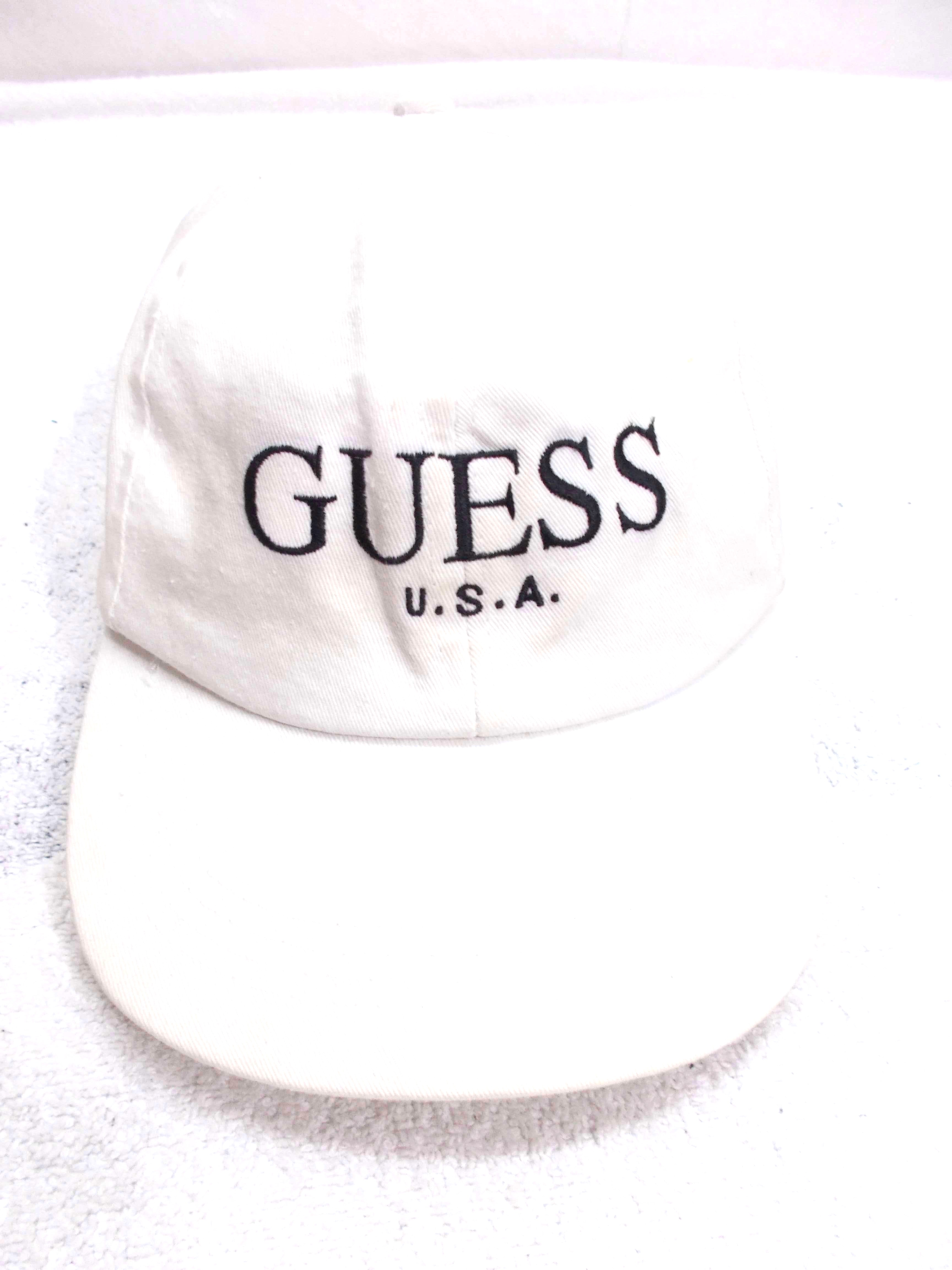 89e5a87a04d4c Vintage Vintage Guess USA By George Marciano Embroidery Logo Made In ...