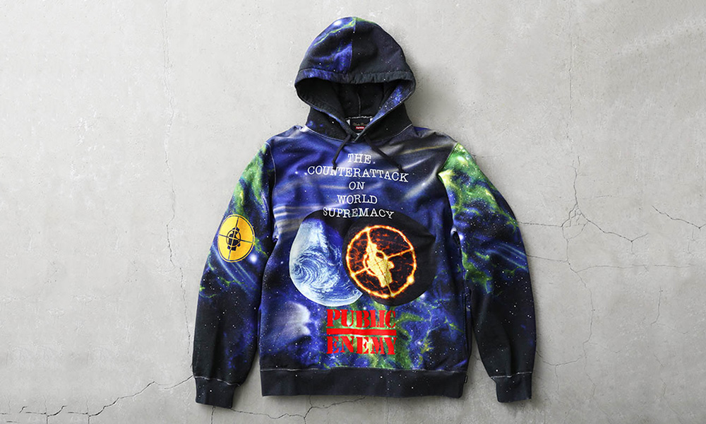 Supreme Undercover Public Enemy Hooded Sweatshirt Size L Sweatshirts Hoos For Grailed