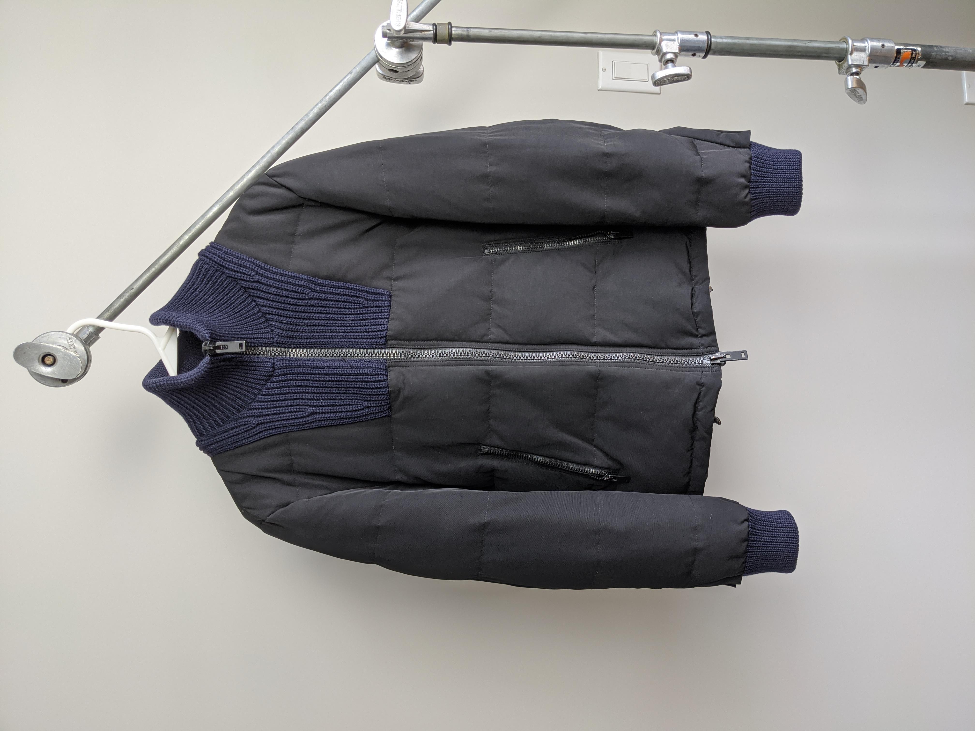 Maison Margiela Contrast Down Puffer Jacket