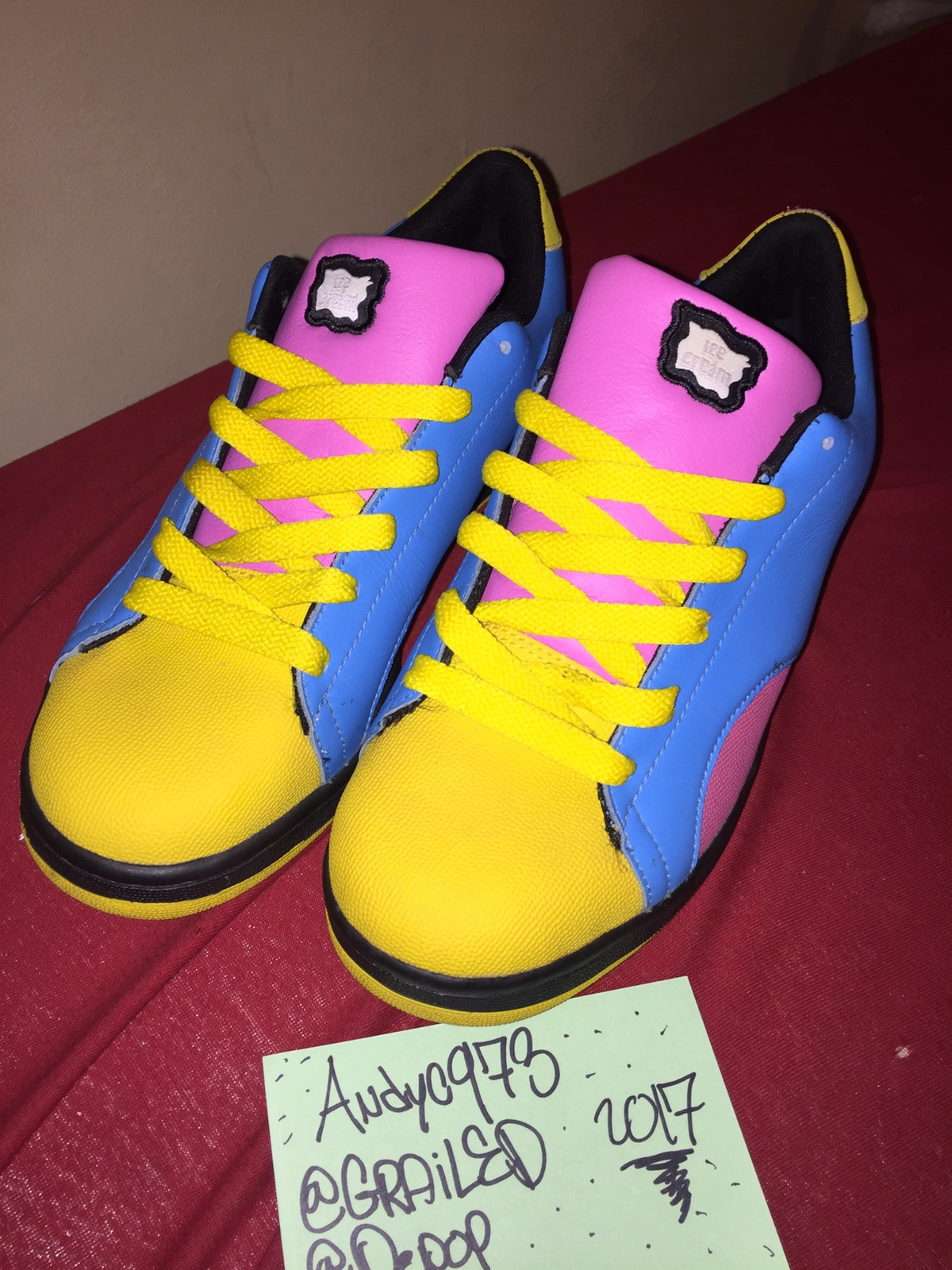 608ce2d67 Reebok Reebok X Ice Cream Shoes Board Flip 2 Mens 8.5 Used