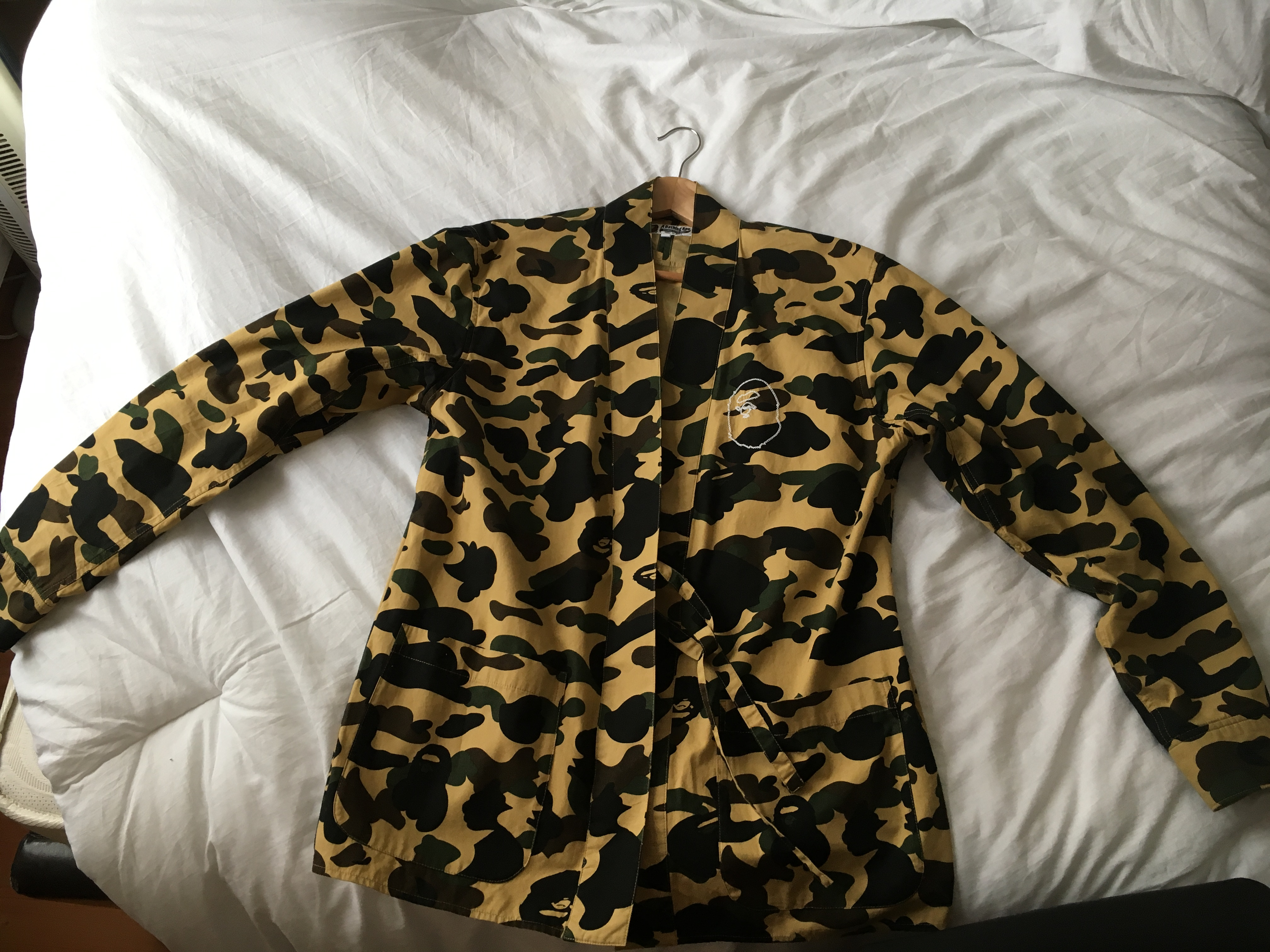 aaa2cea8d Bape Bape 1st Camo Kimono Shirt Size Xl | Grailed