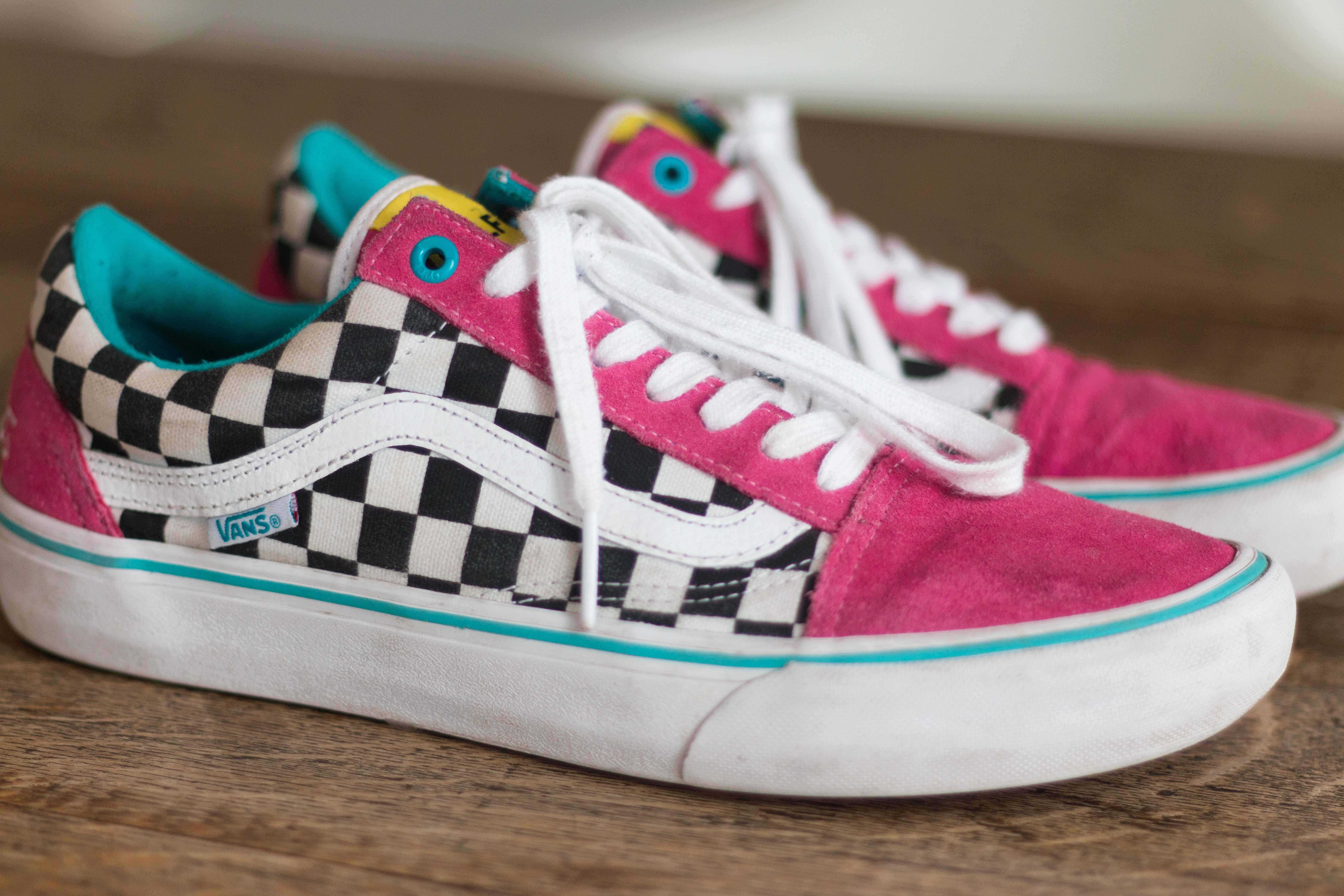 467adbbe776c49 Golf Wang Vans Old Skool Pro Shoes X Golf Wang (blue pink white ...