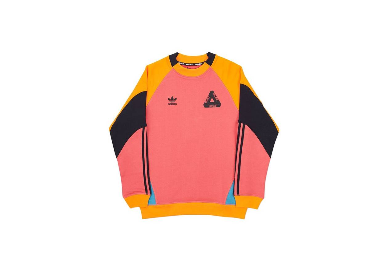 57b76aa0d2a7 Adidas X Palace Crew Neck Sweatshirt - Photos Adidas Collections