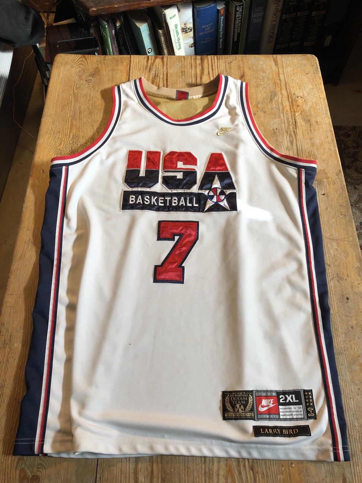 best website 0e49a 790c6 Larry Bird Dream Team Jersey