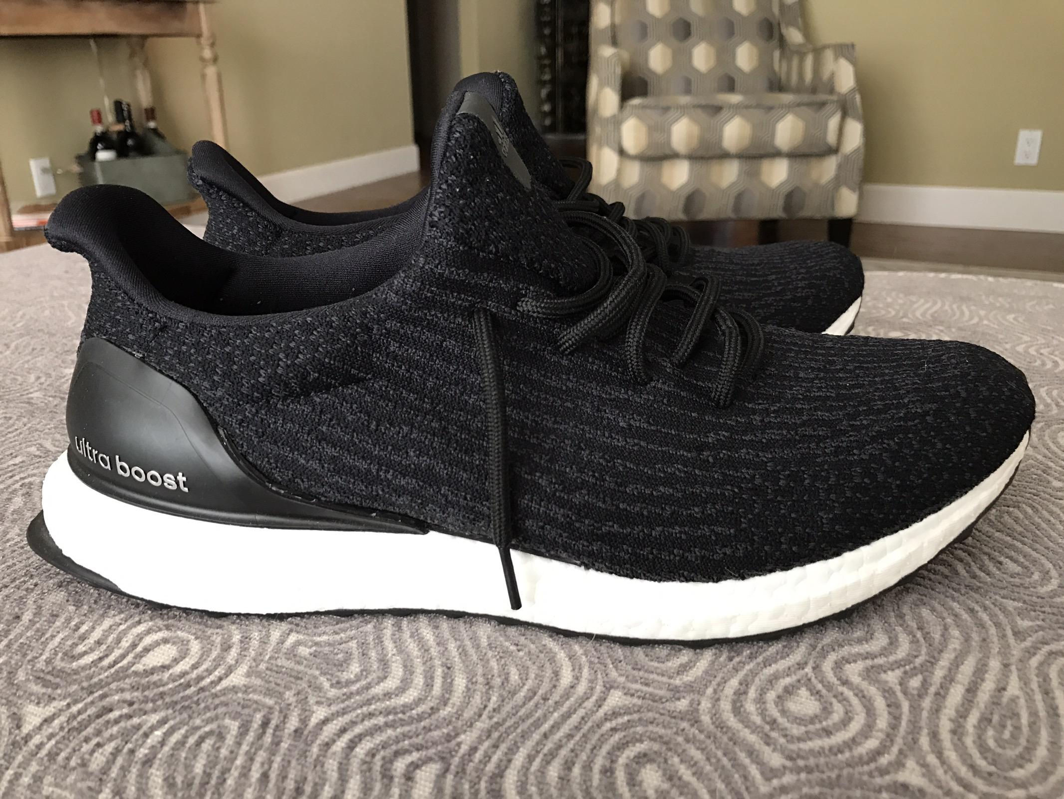 Adidas Ultra Boost 3.0 Core Black Uncaged Custom