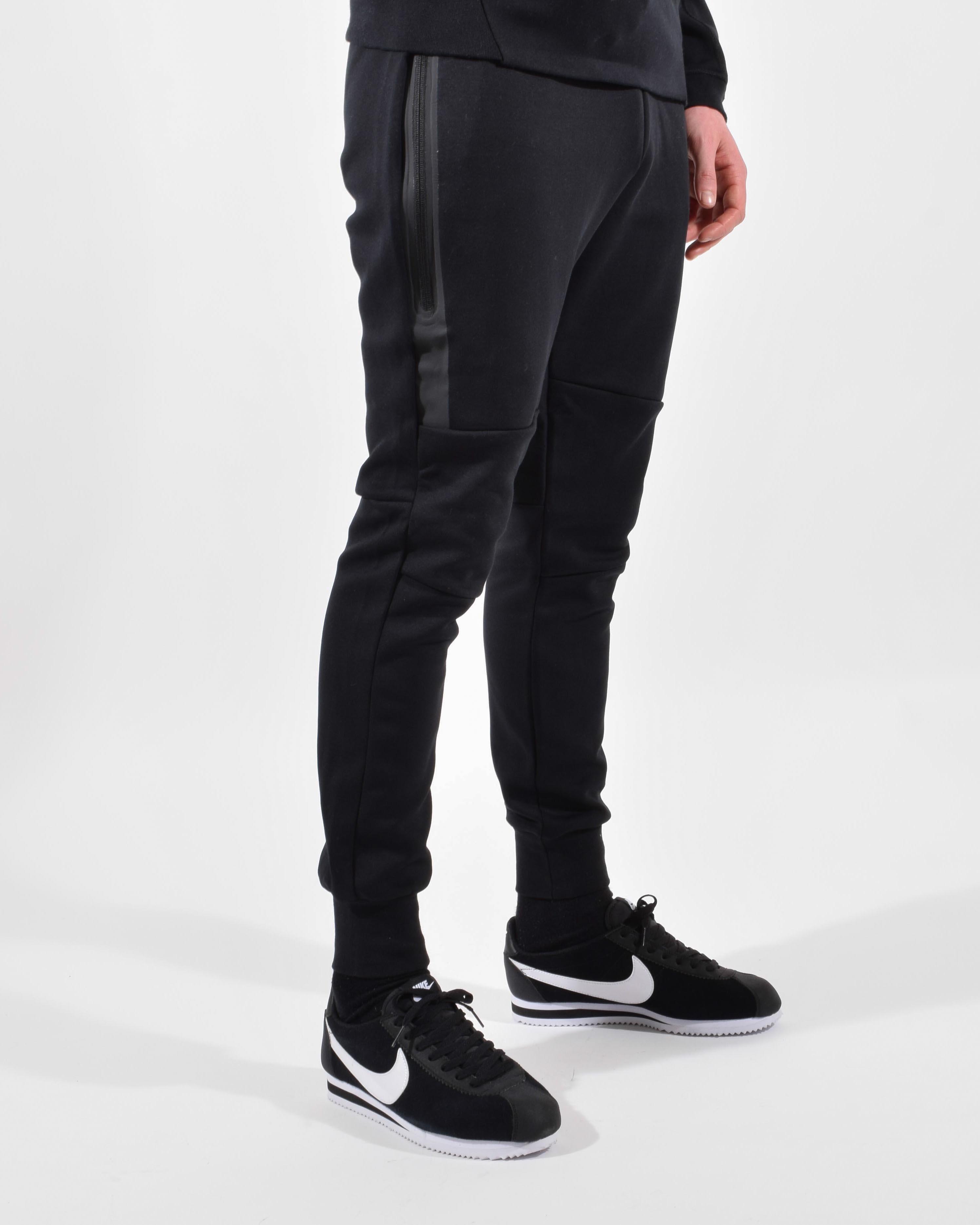 black nike tech pants