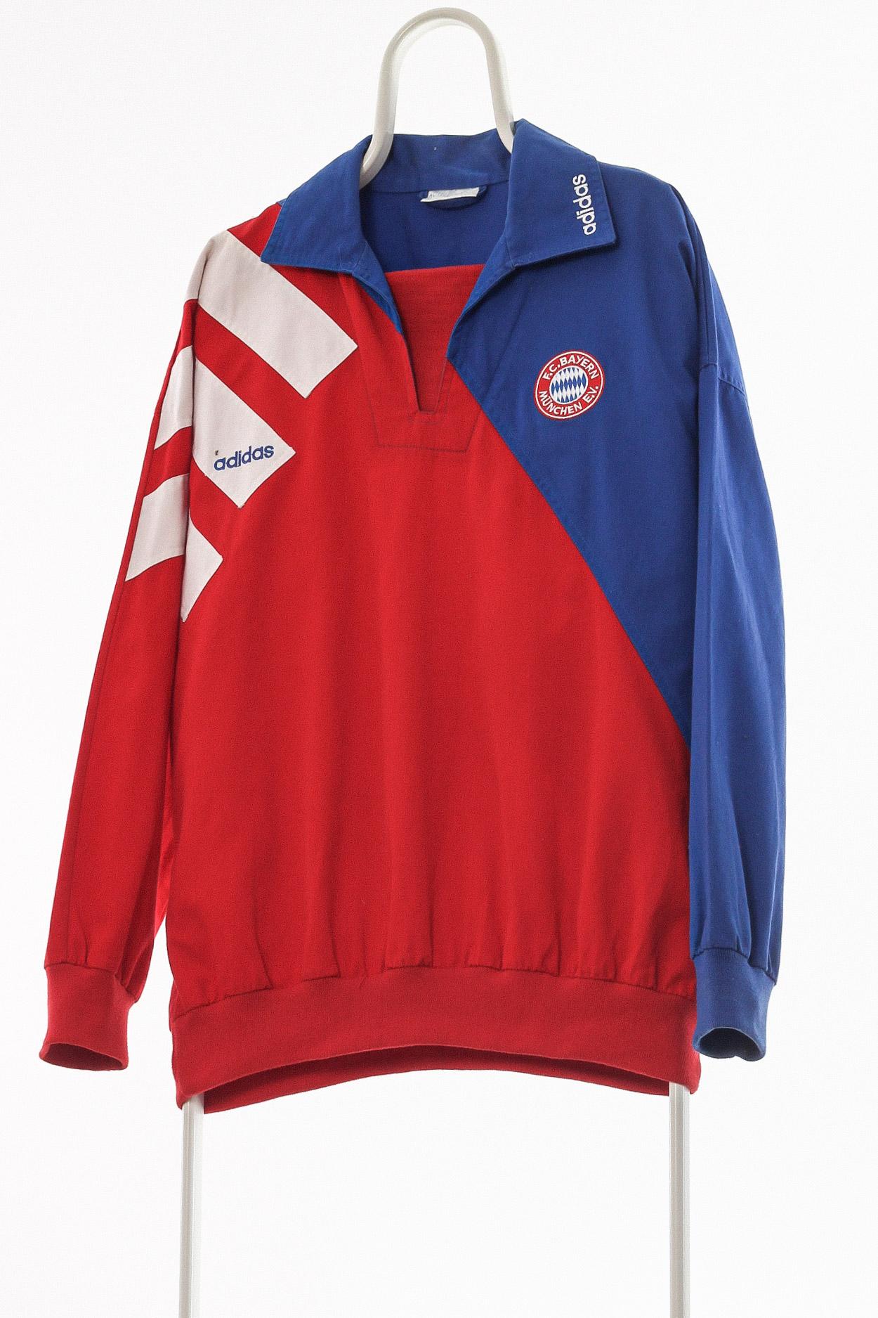 90s Vintage ADIDAS ORIGINALS FC Bayern Pullover Jacket A629