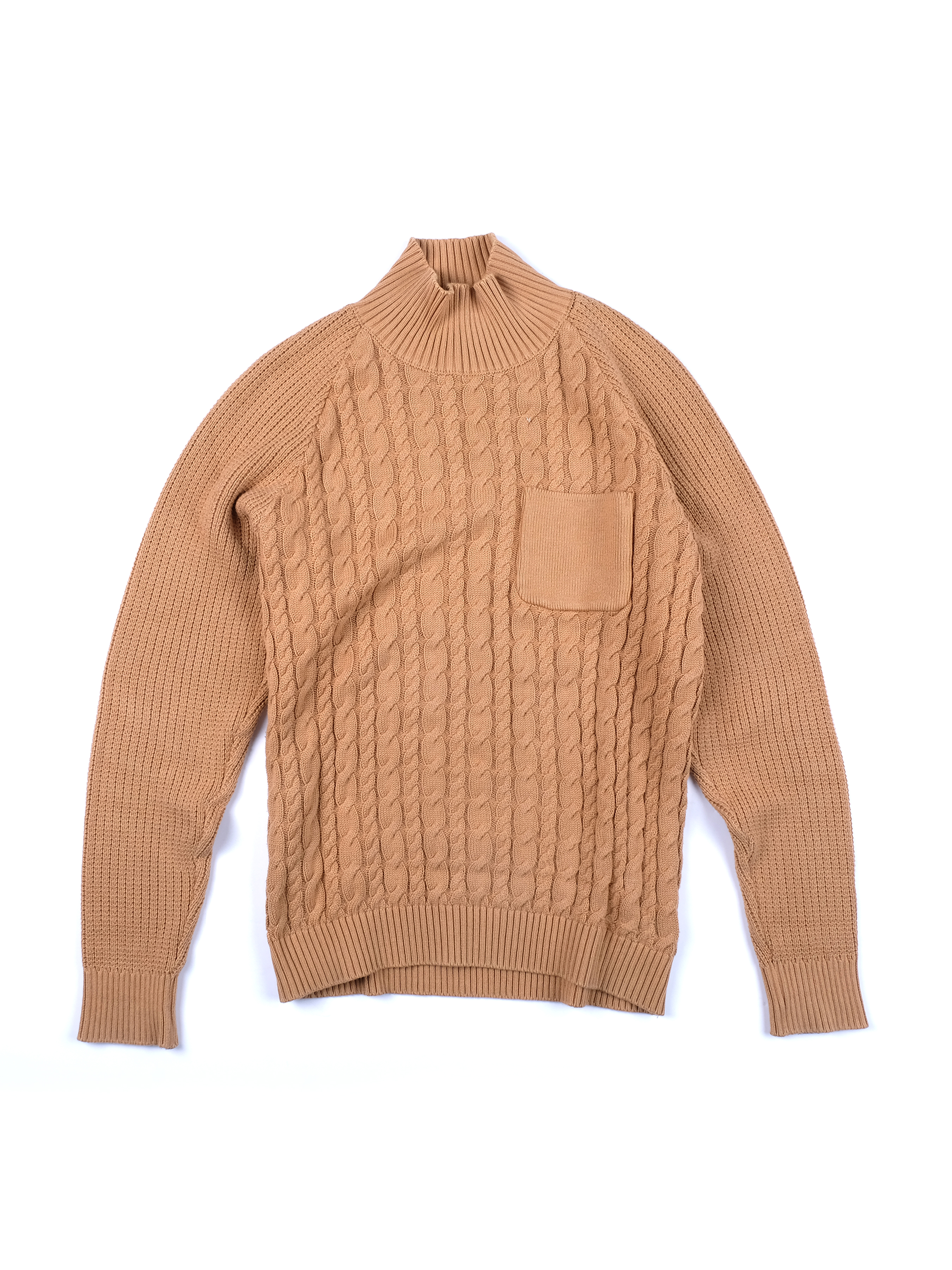 4746edabc4 Undercover Chunky Knit Tan Sweater Size l - Sweaters   Knitwear for Sale -  Grailed