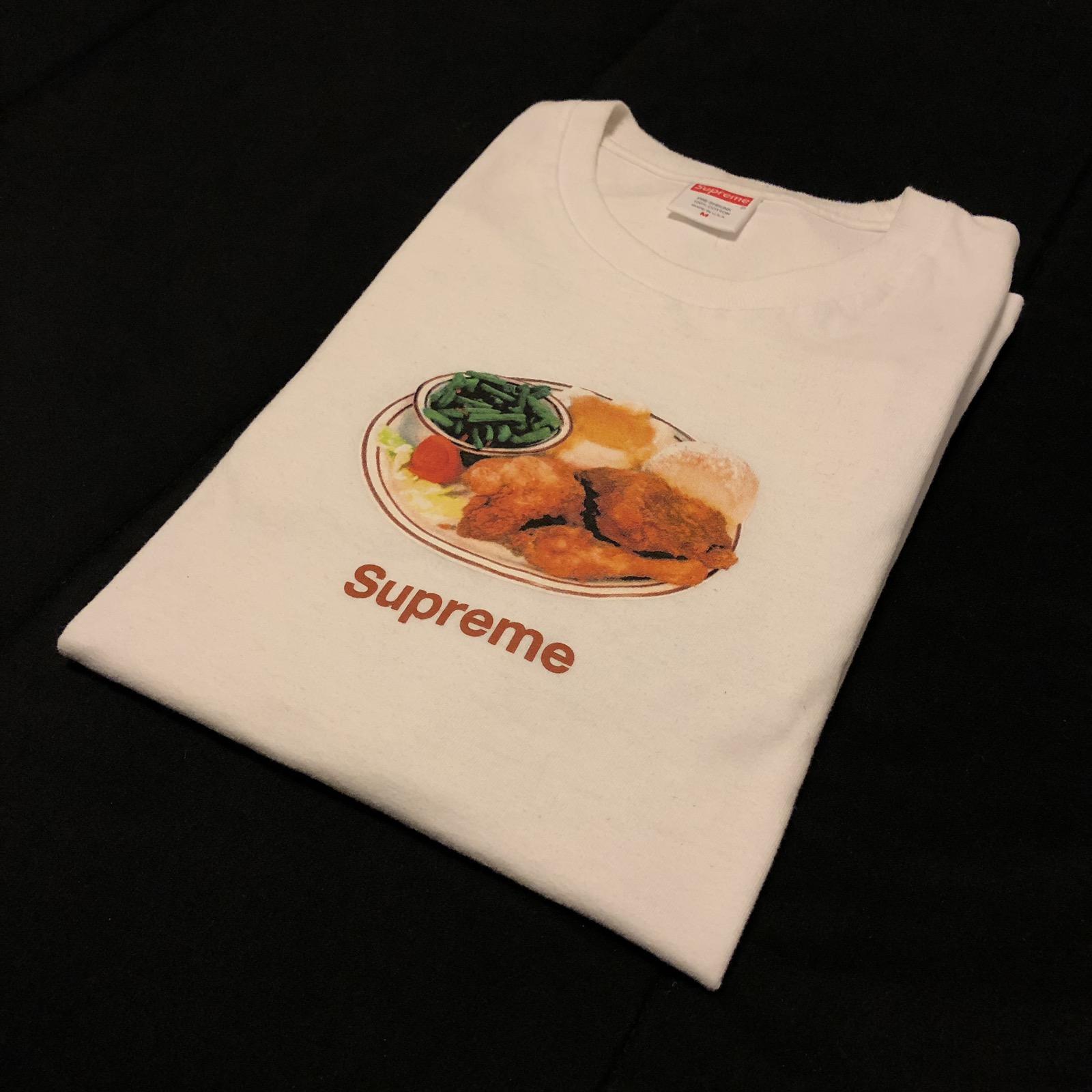5b2d2812be1c Supreme Supreme Chicken Dinner Tee White Ss18 | Grailed