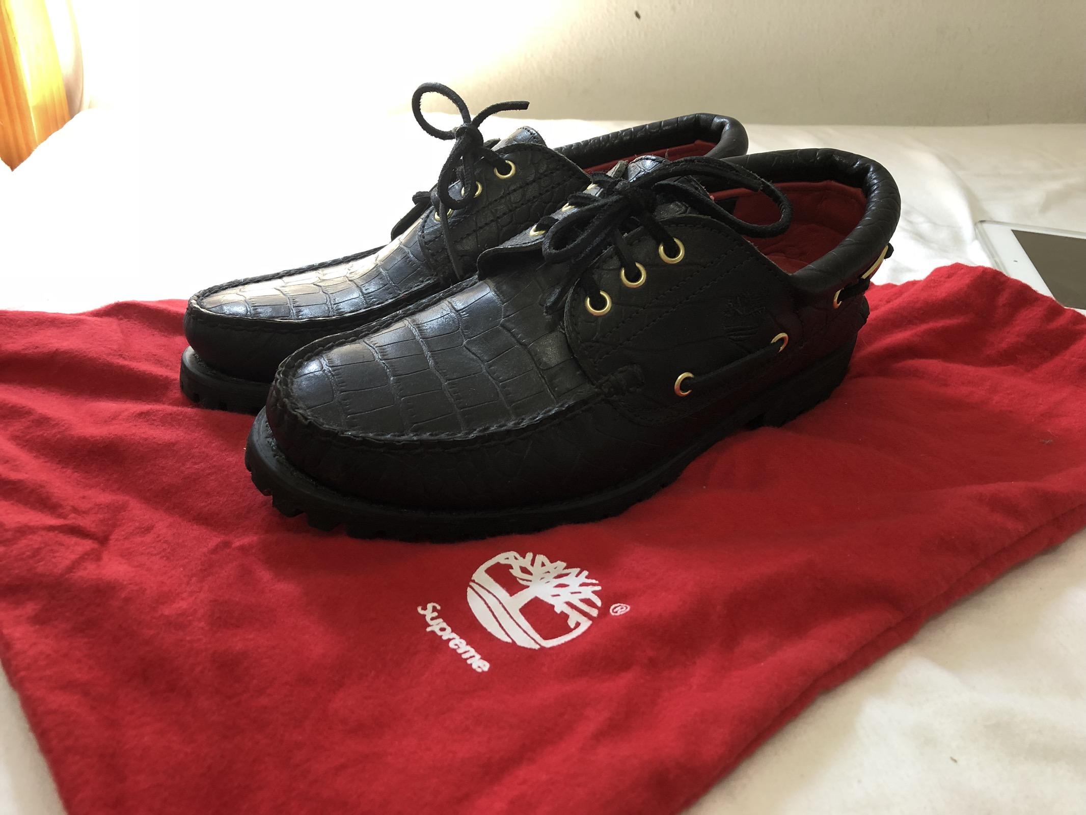 SupremeTimberland 3 Eye Classic Lug Shoe