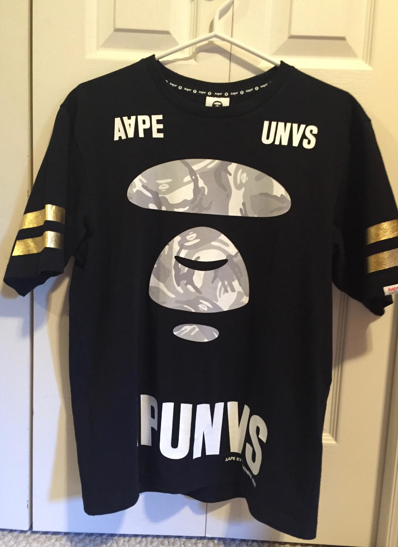 82f389c79 Bape Aape By A Bathing Ape Aape Unvs T-shirt | Grailed