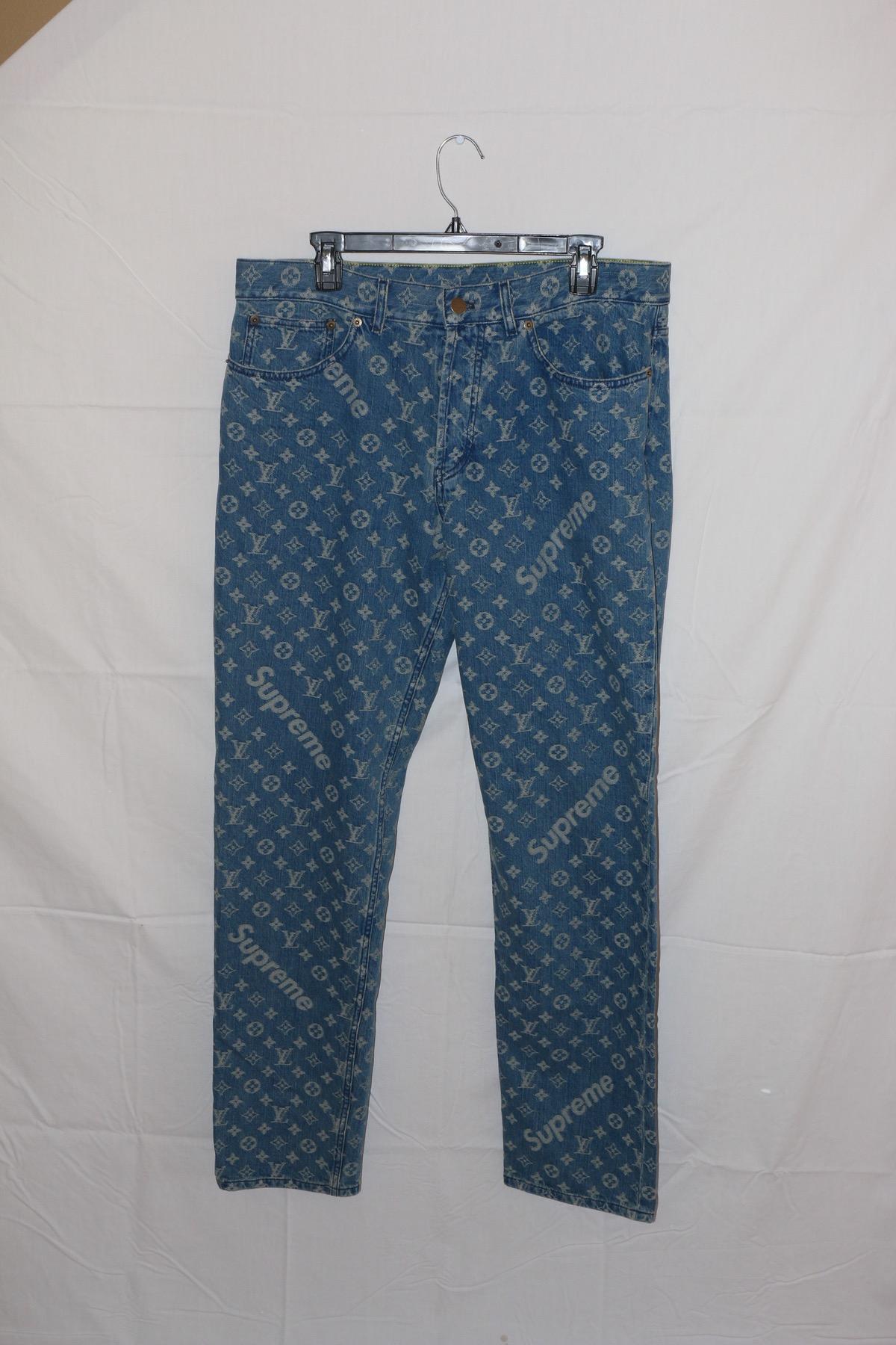 Supreme Louis Vuitton Denim Jeans