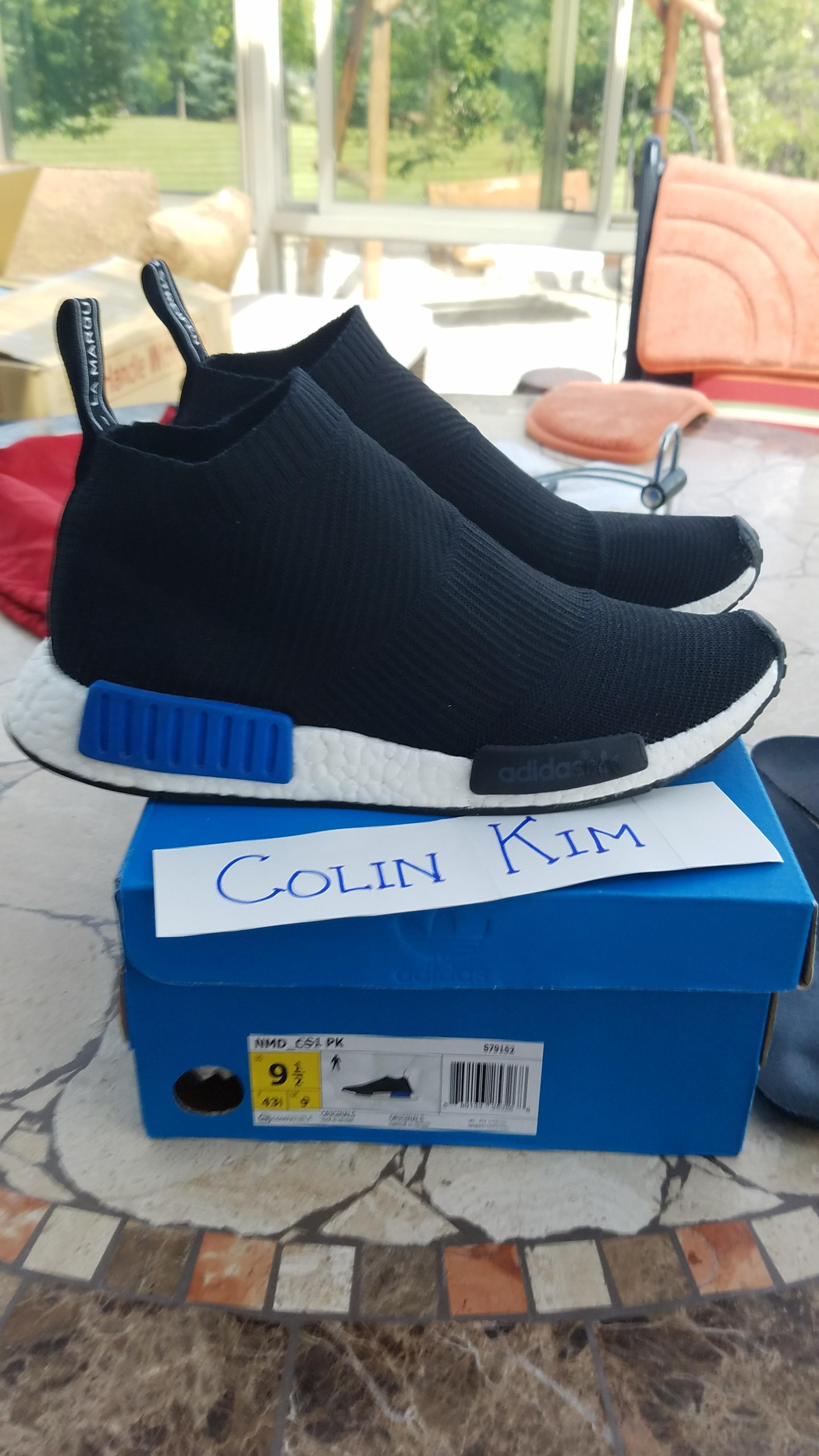 f8e9039553 Adidas NMD City Sock Core Black Lush Blue Size 9.5 - Hi-Top Sneakers ...