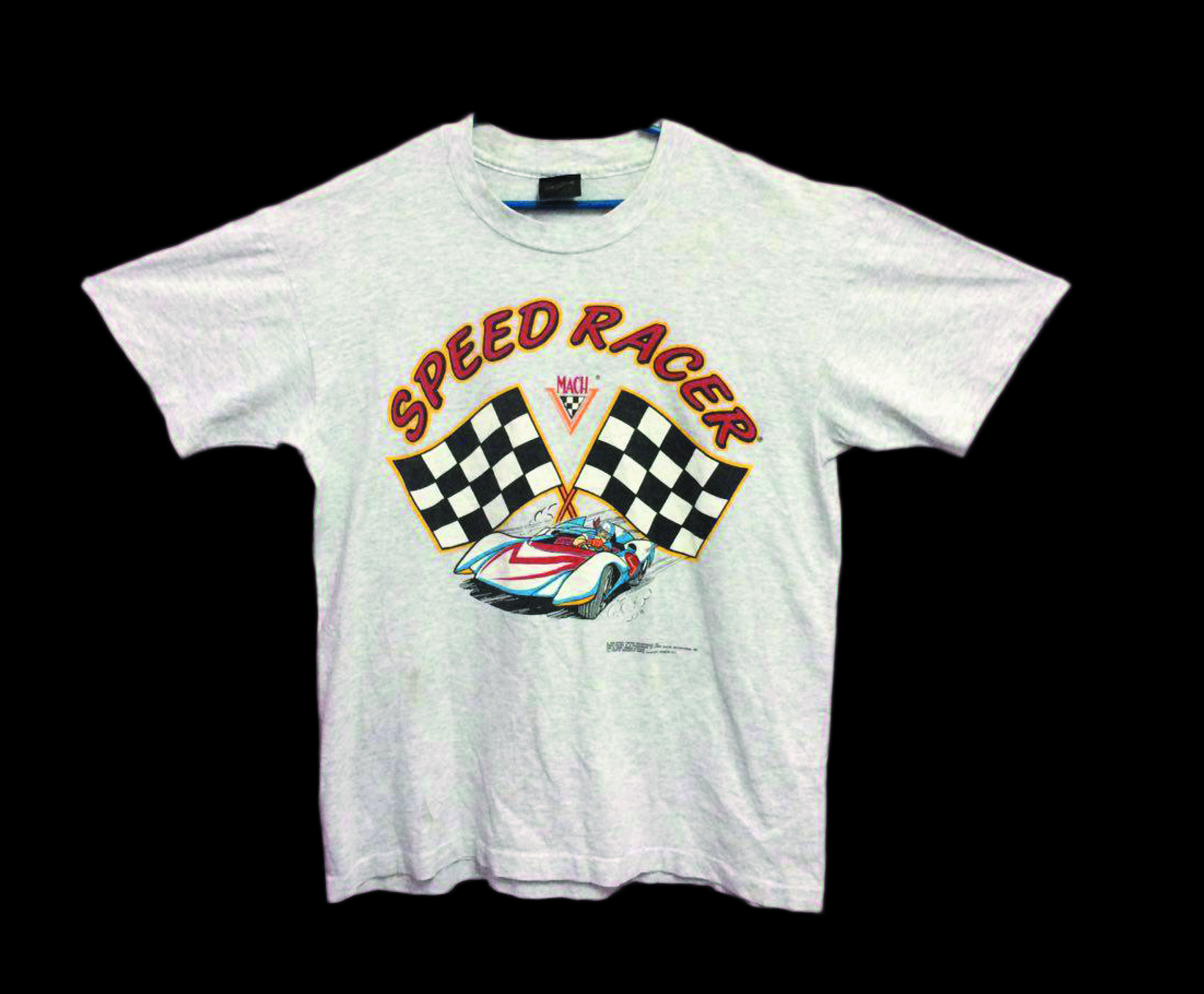3870ca1e Movie Vintage Speed Racer Cartoon T Shirt Size Large | Grailed