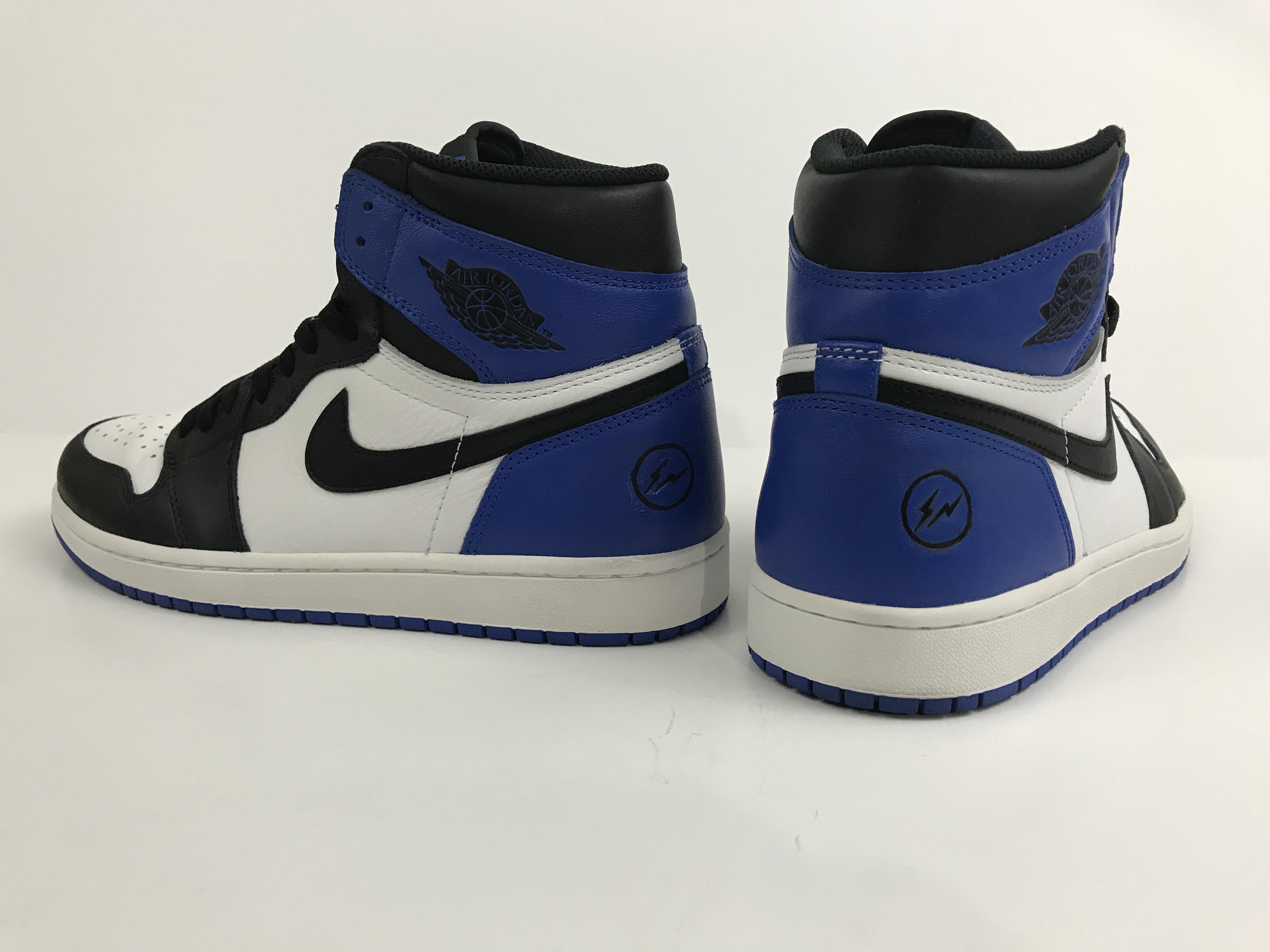 3eff7d7f222 Nike Game Royal 1s - Fragment 1s Custom | Grailed