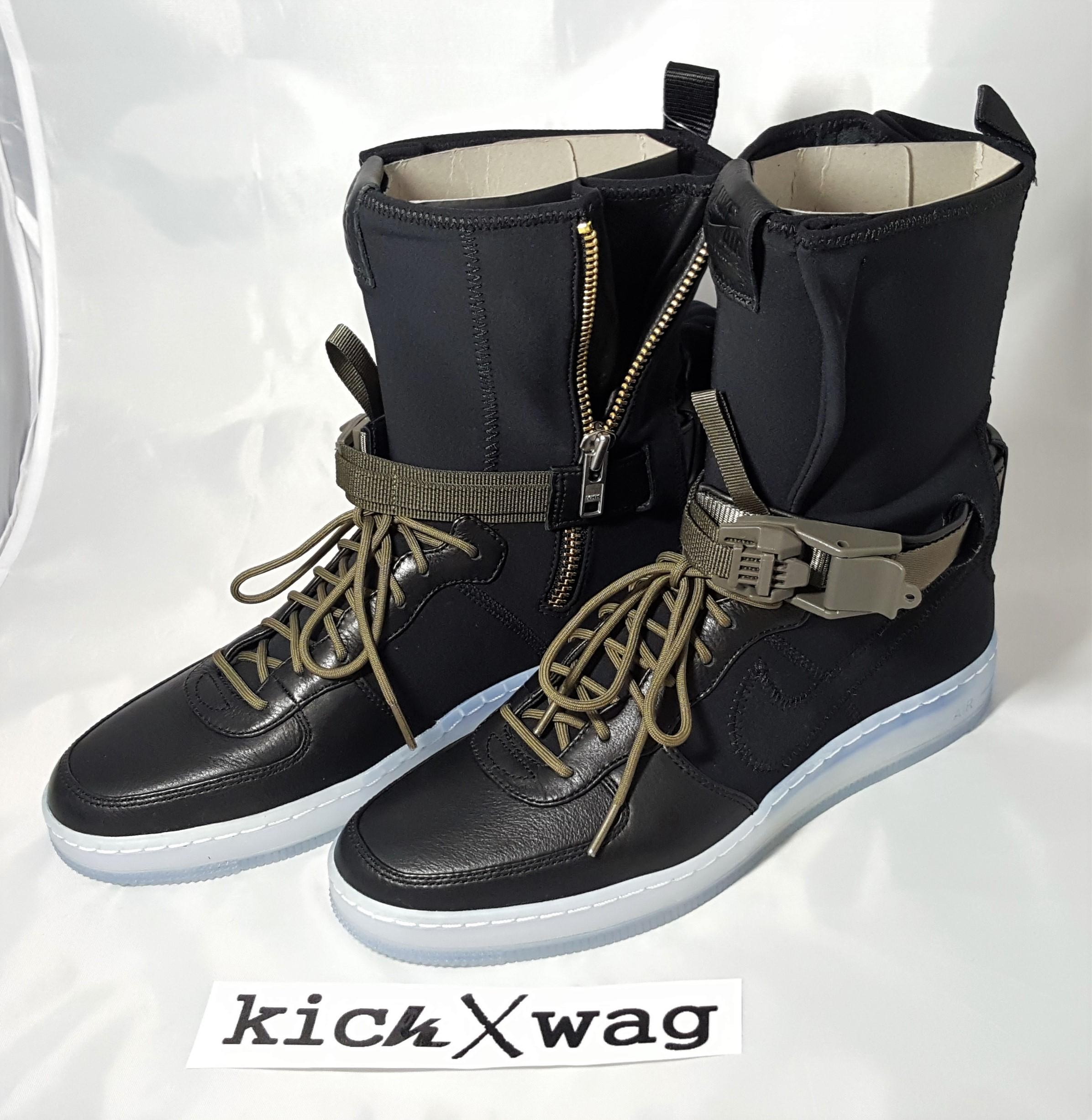 82a12d56e611 Nike × Acronym. NIKELAB X ACRONYM AIR FORCE 1 DOWNTOWN HI SP NIKE AF1. Size   US ...