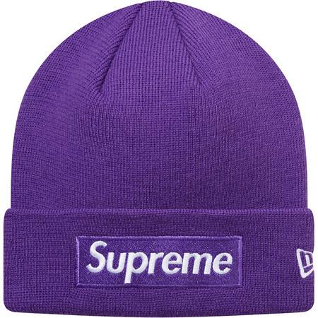 Supreme Purple New Era Box Logo Beanie Size one size - Hats for Sale -  Grailed f21196cdbd1
