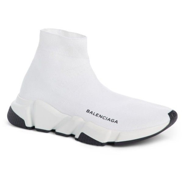 balenciaga speed trainer white